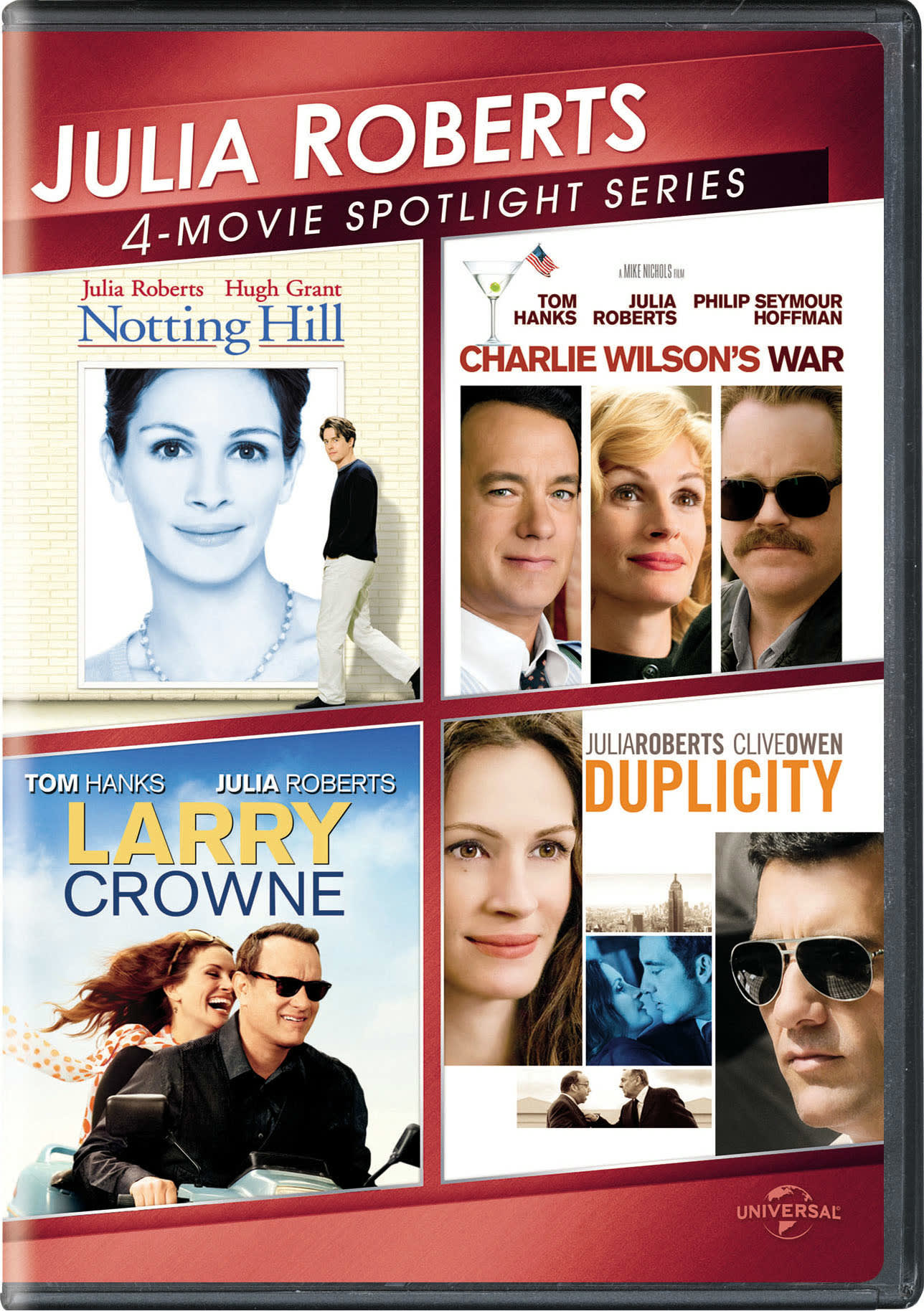 Julia Roberts 4-Movie Spotlight Series (Box Set) [DVD]