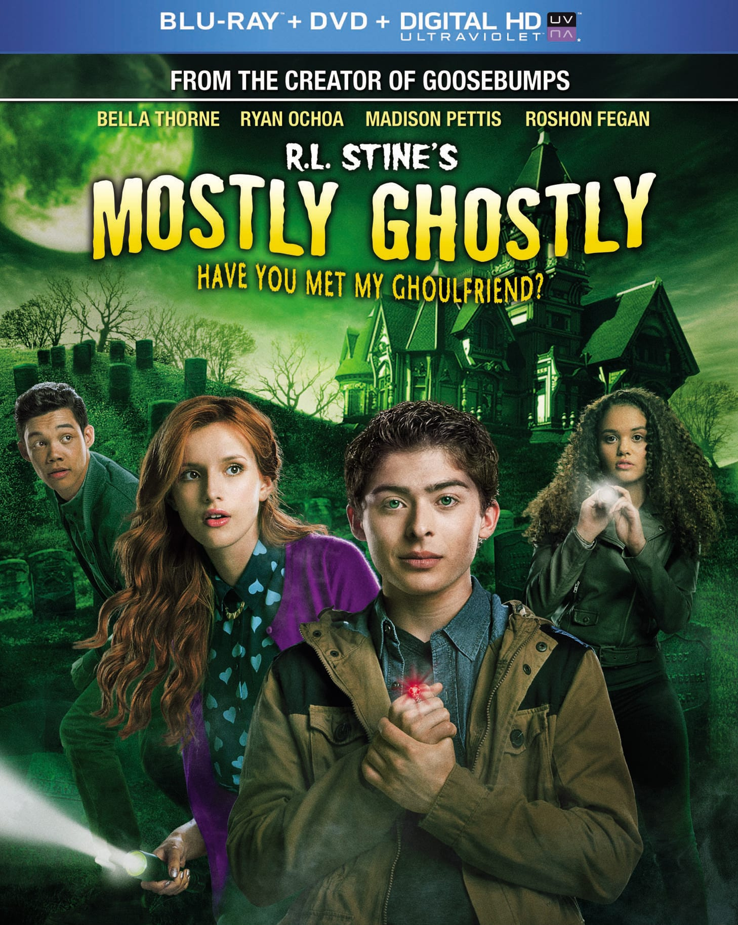 R.L. Stine's Mostly Ghostly: Have You Met My Ghoulfriend? (DVD + Digital + Ultraviolet) [Blu-ray]