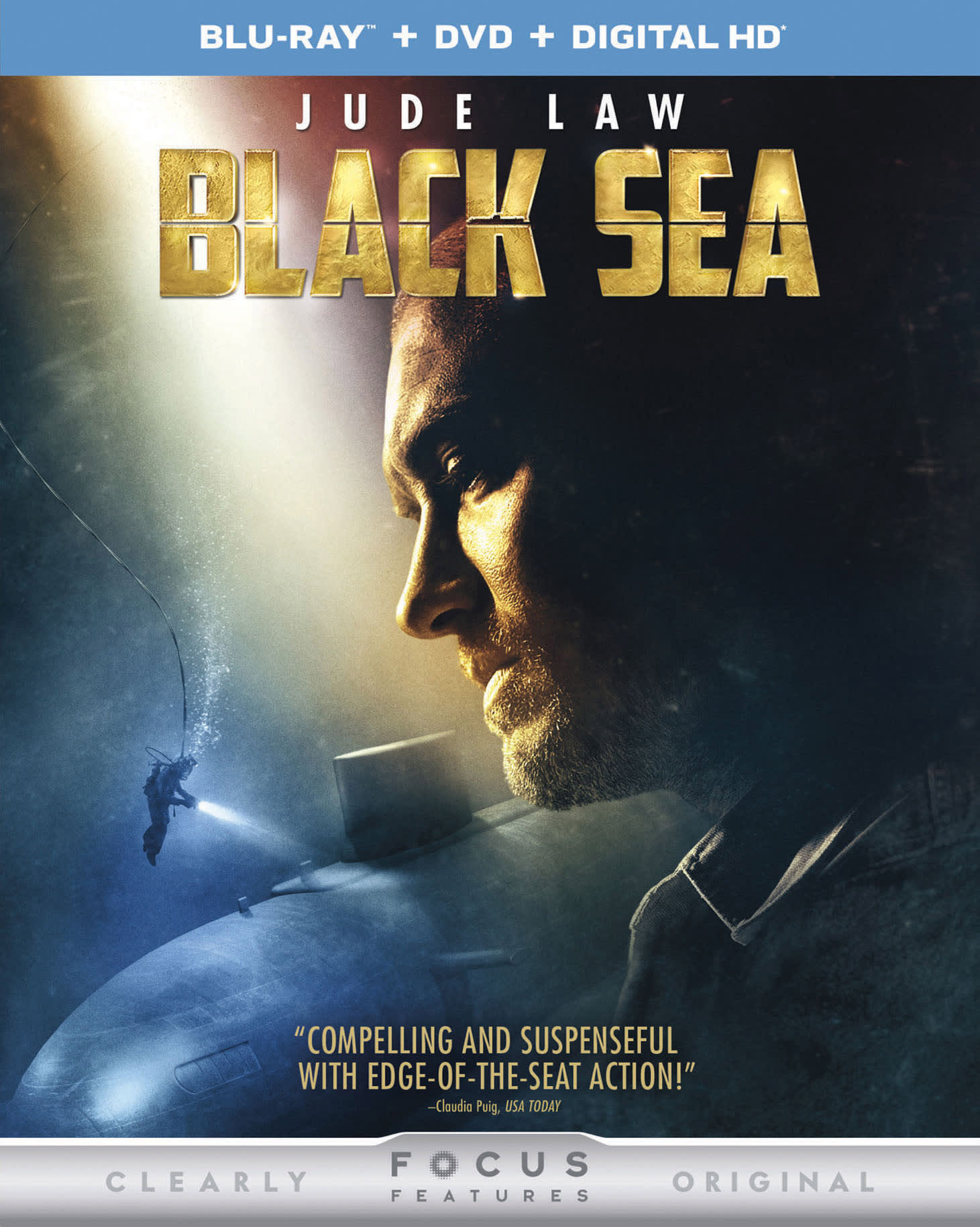 Black Sea (DVD + Digital) [Blu-ray]