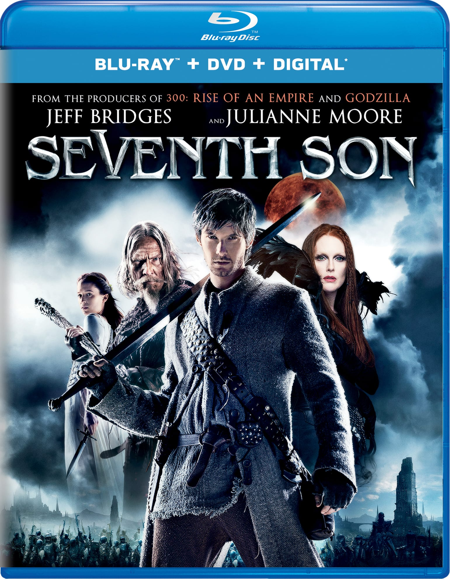 Seventh Son (DVD + Digital) [Blu-ray]