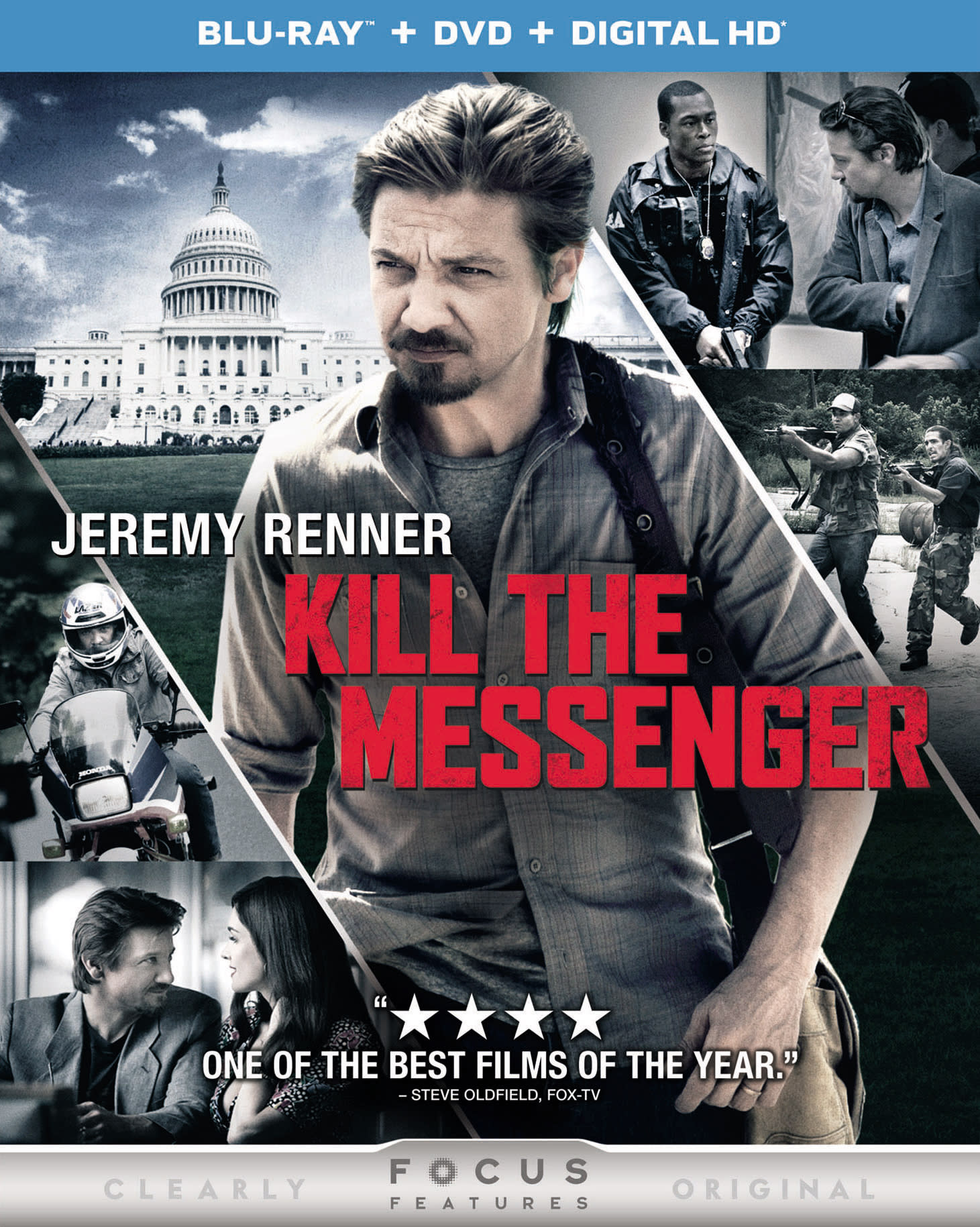 Kill the Messenger (DVD + Digital) [Blu-ray]