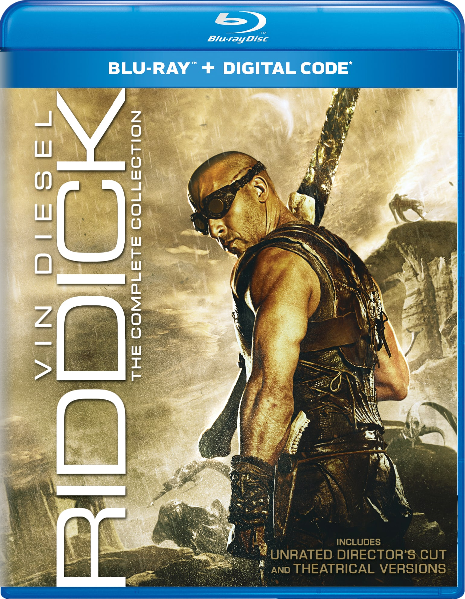 Riddick: The Complete Collection (Box Set) [Blu-ray]