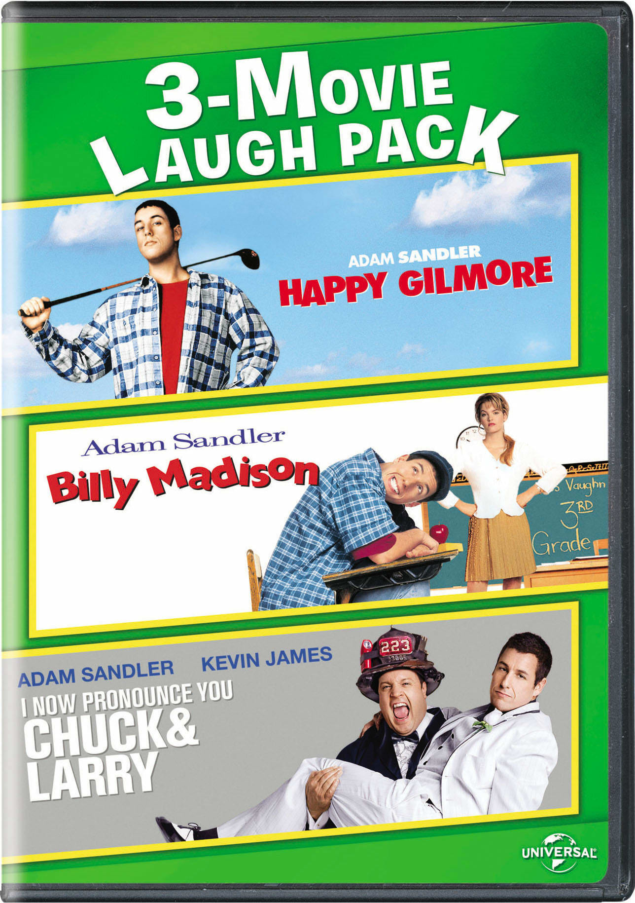 Happy Gilmore/Billy Madison/I Now Pronounce You Chuck & Larry [DVD]