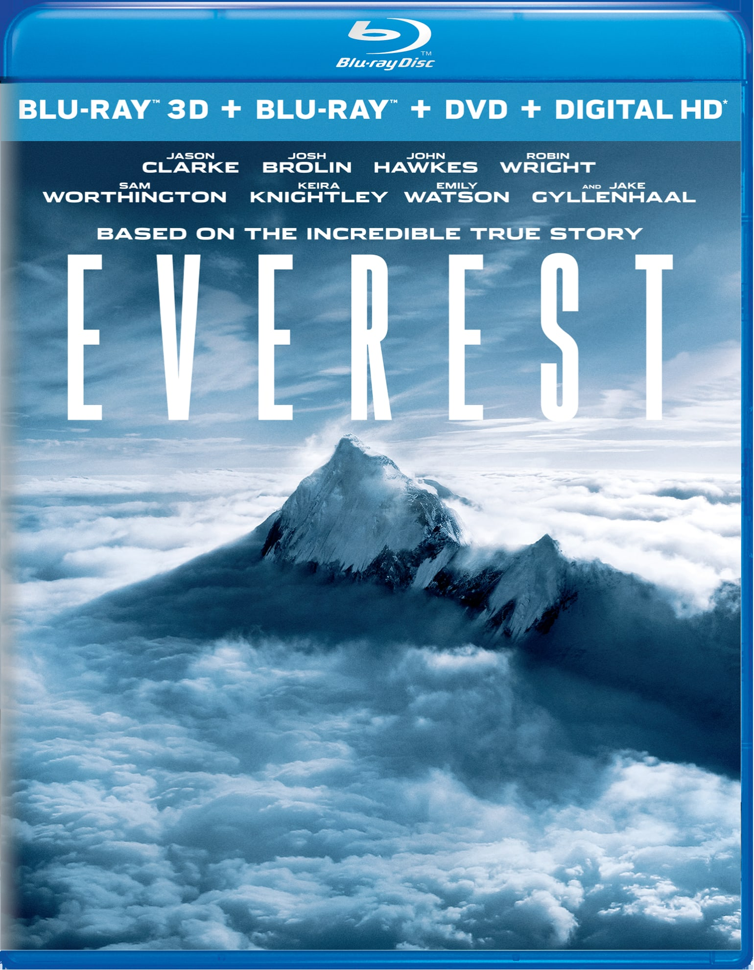 Everest 3D (DVD + Digital) [Blu-ray]