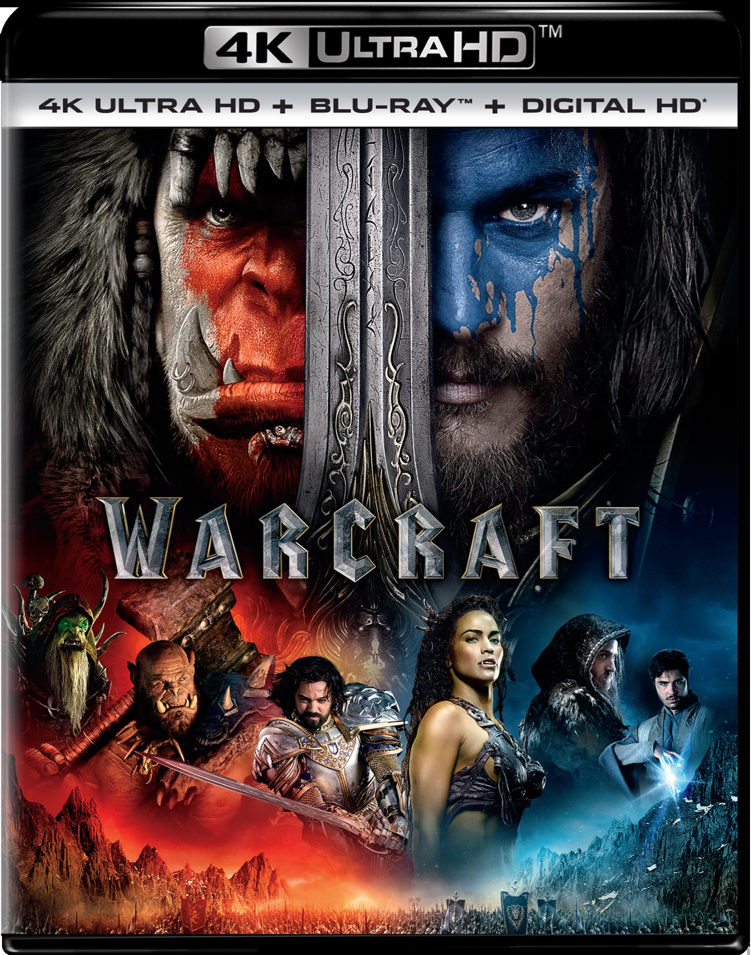 Warcraft: The Beginning (4K Ultra HD) [UHD]