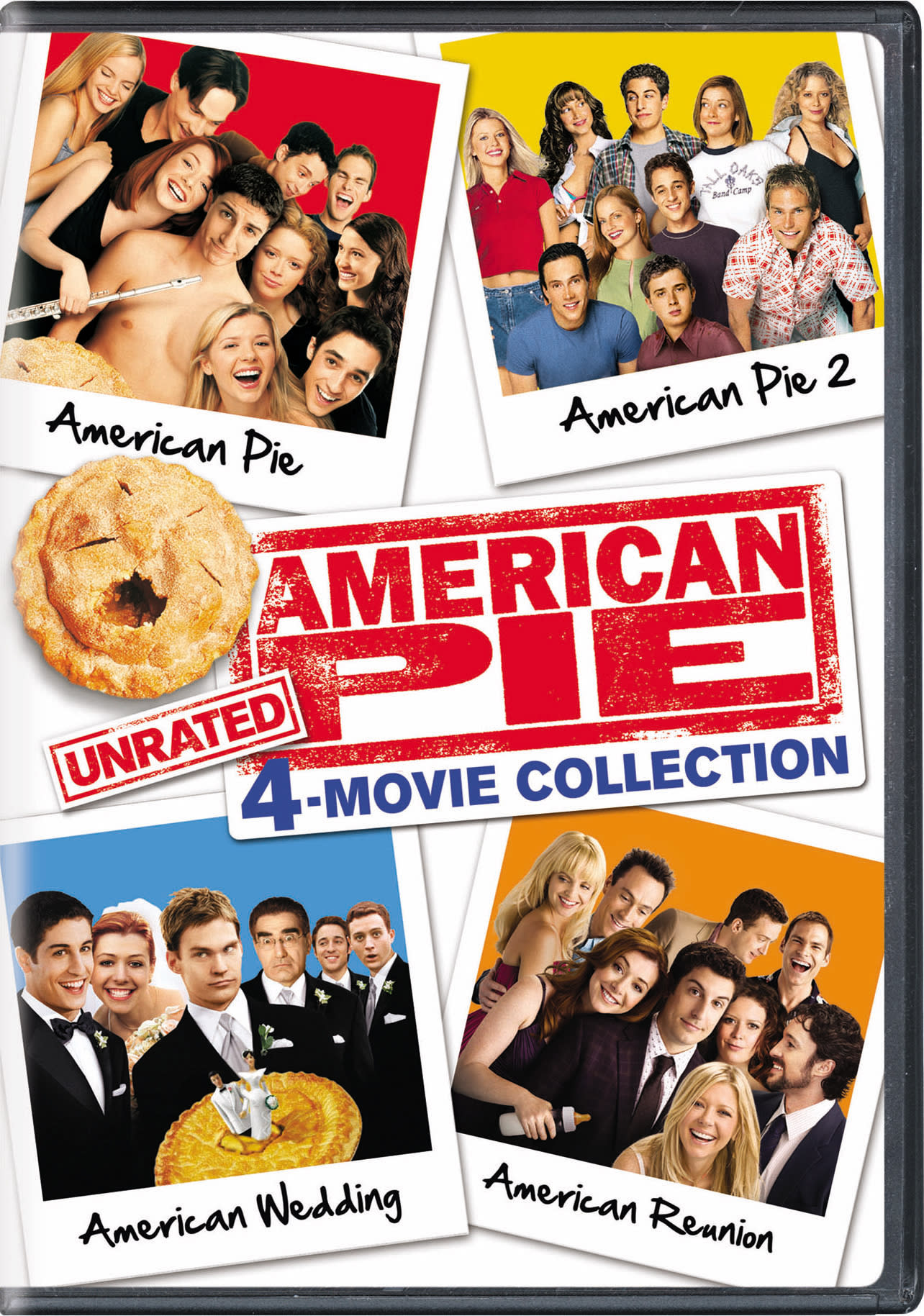 American Pie: 4-Movie Collection (Unrated Edition) [DVD]