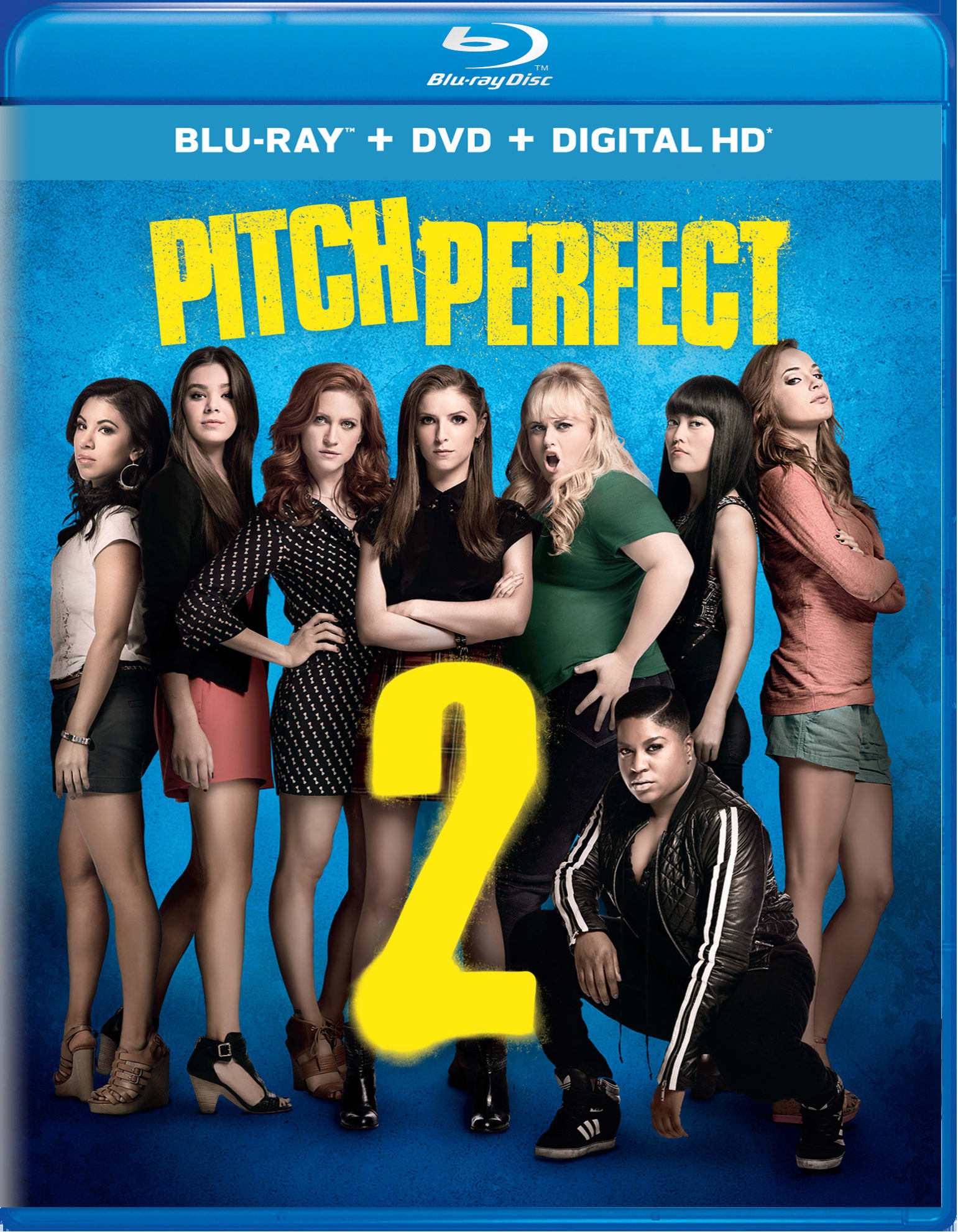 Pitch Perfect 2 (DVD + Digital) [Blu-ray]