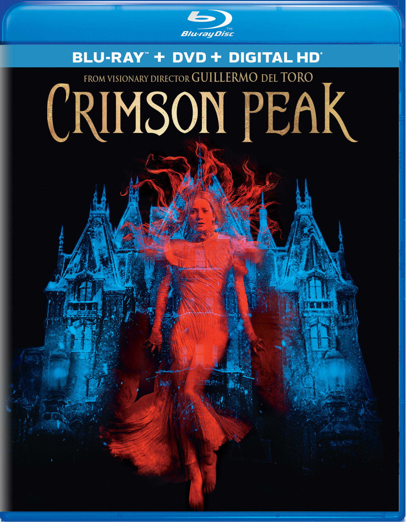 Crimson Peak (DVD + Digital) [Blu-ray]