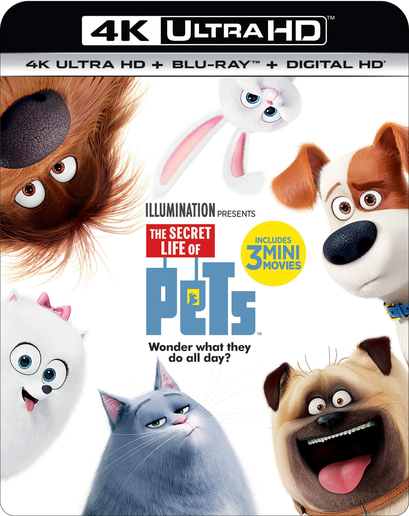 The Secret Life of Pets (4K Ultra HD) [UHD]