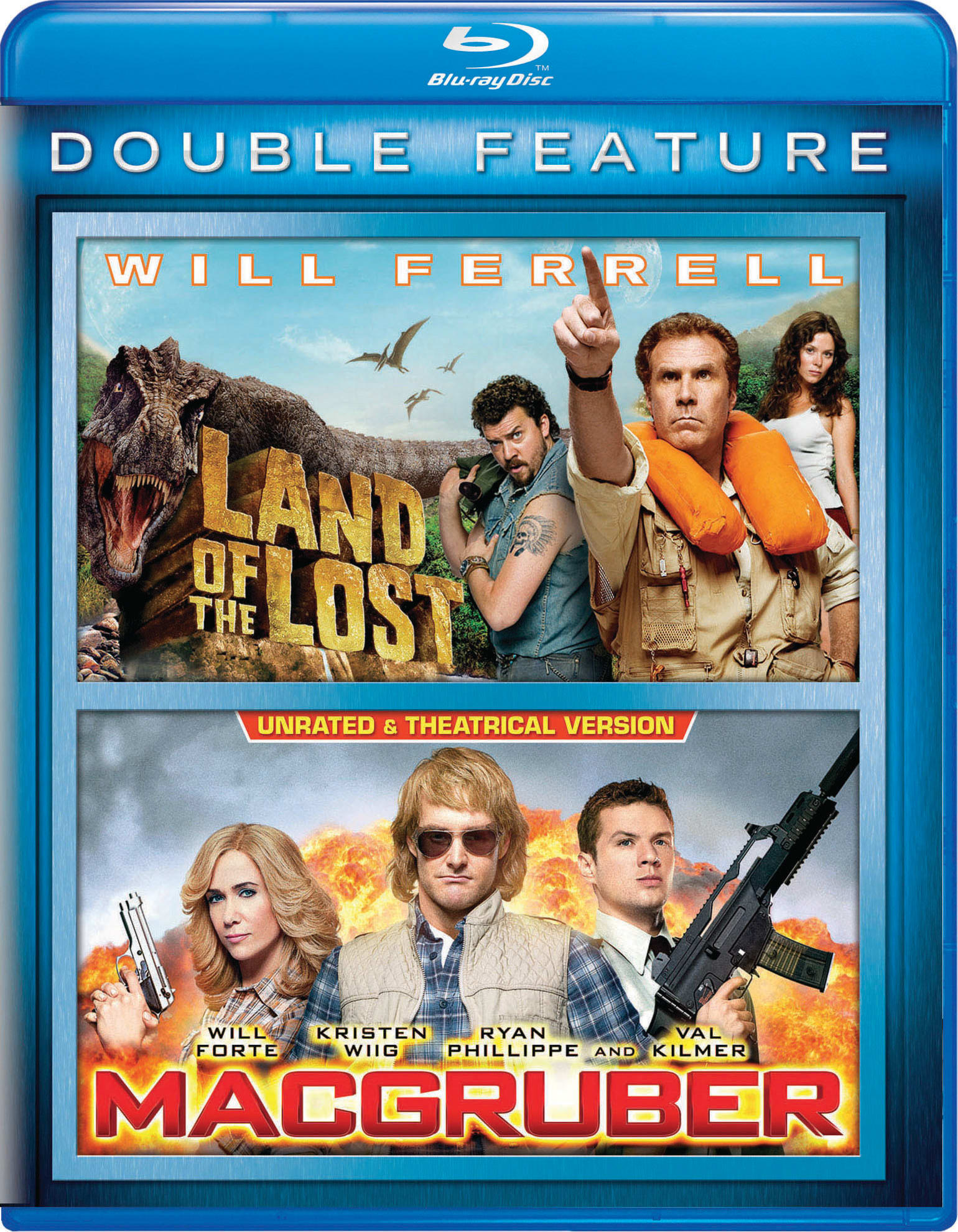 Land of the Lost/MacGruber [Blu-ray]