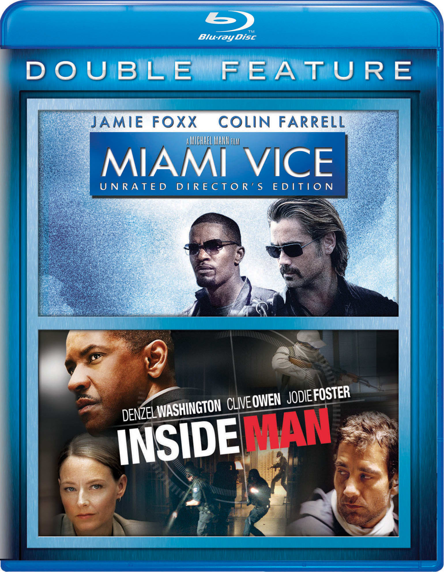 Miami Vice/Inside Man [Blu-ray]