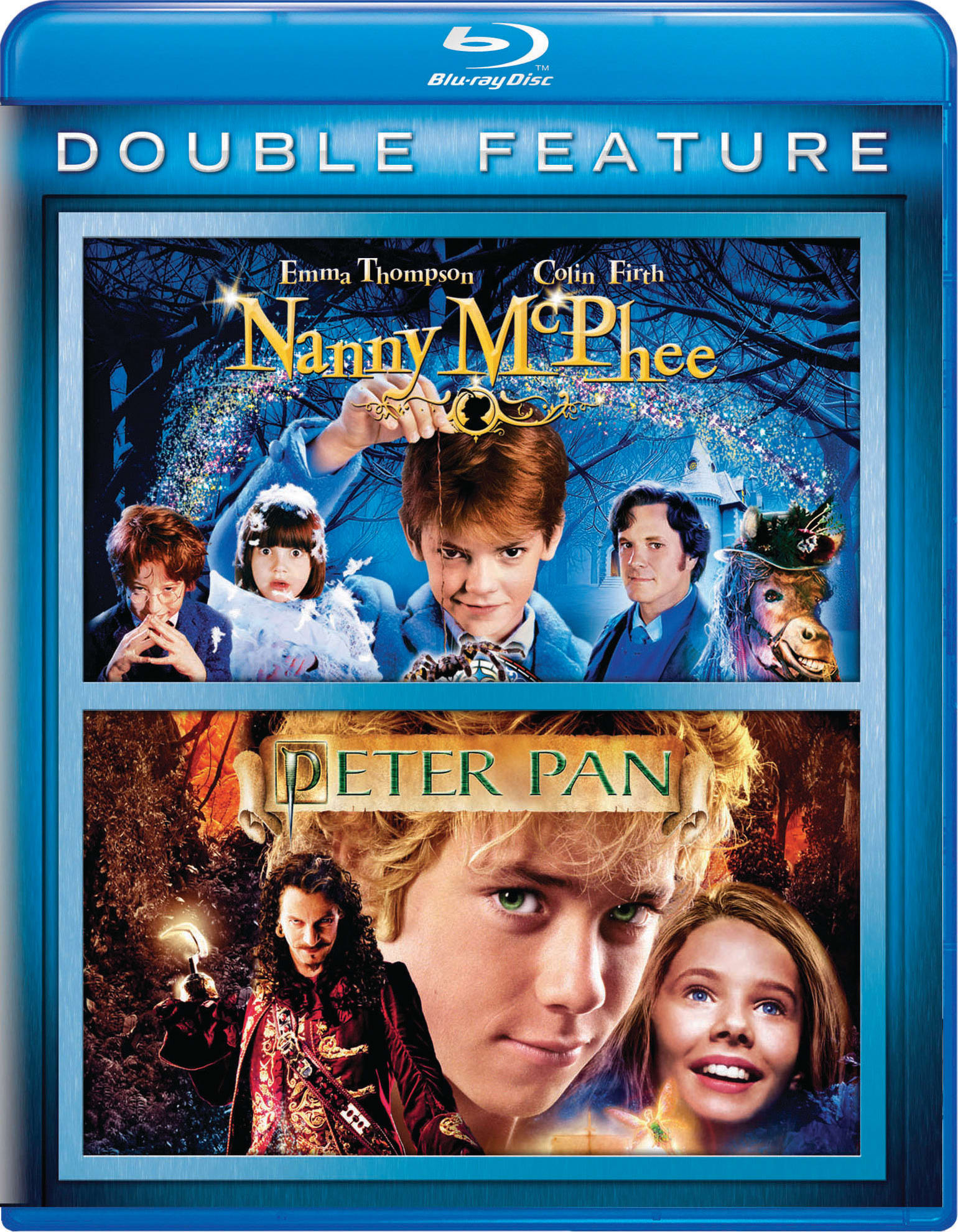 Nanny McPhee/Peter Pan [Blu-ray]