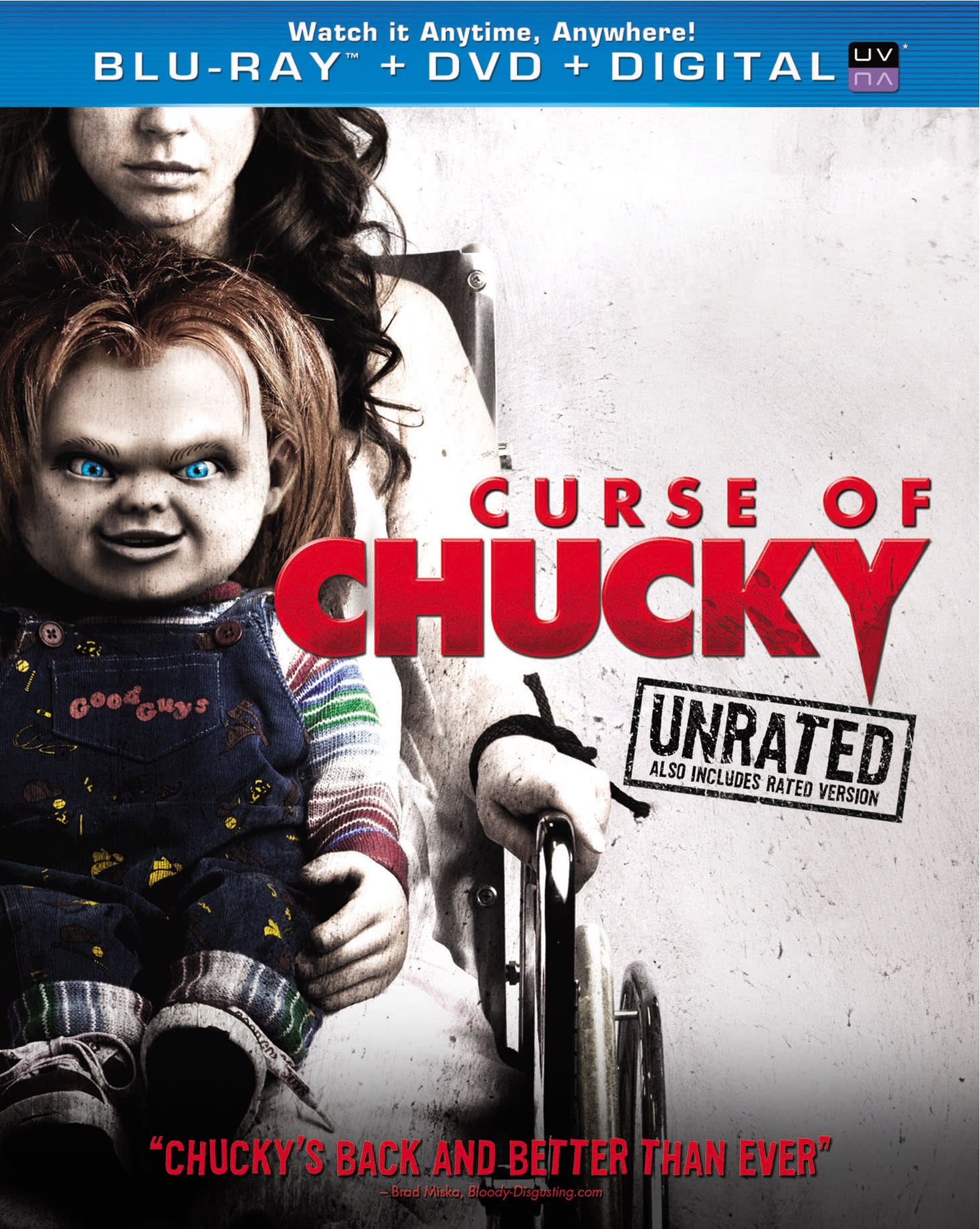 Curse of Chucky (Unrated + DVD + Digital) [Blu-ray]