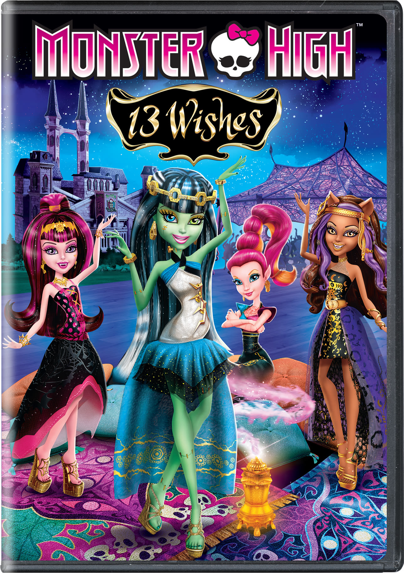 Monster High: 13 Wishes [DVD]