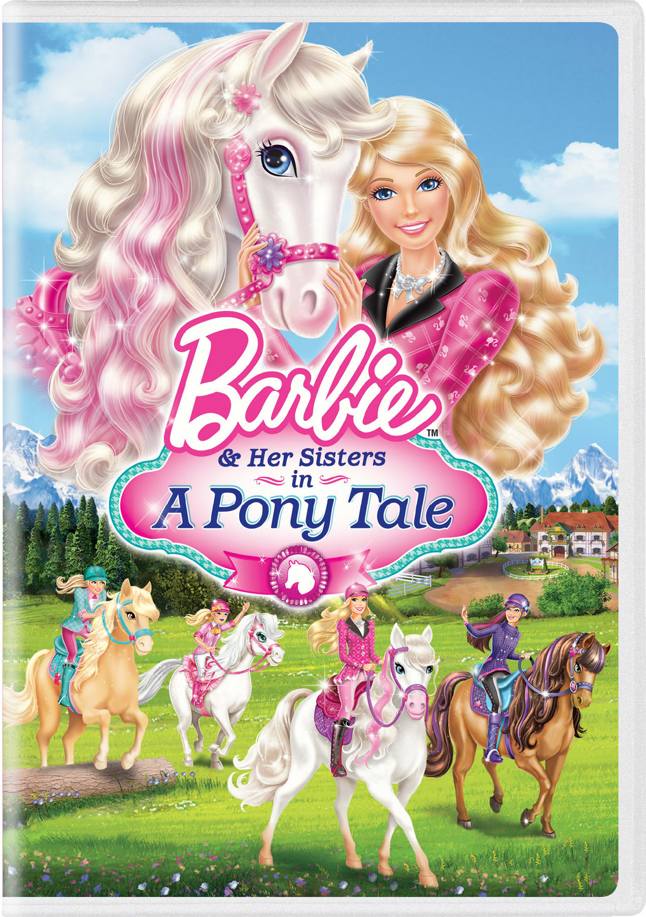 Barbie and Her Sisters in a Pony Tale [DVD]