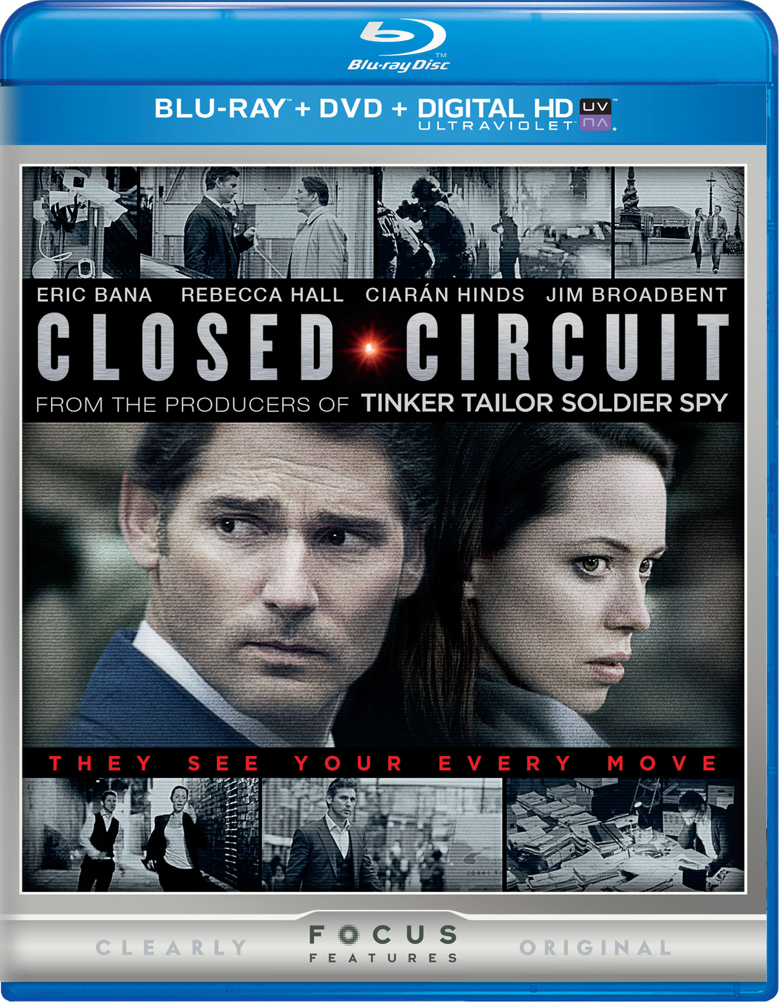 Closed Circuit (DVD + Digital) [Blu-ray]