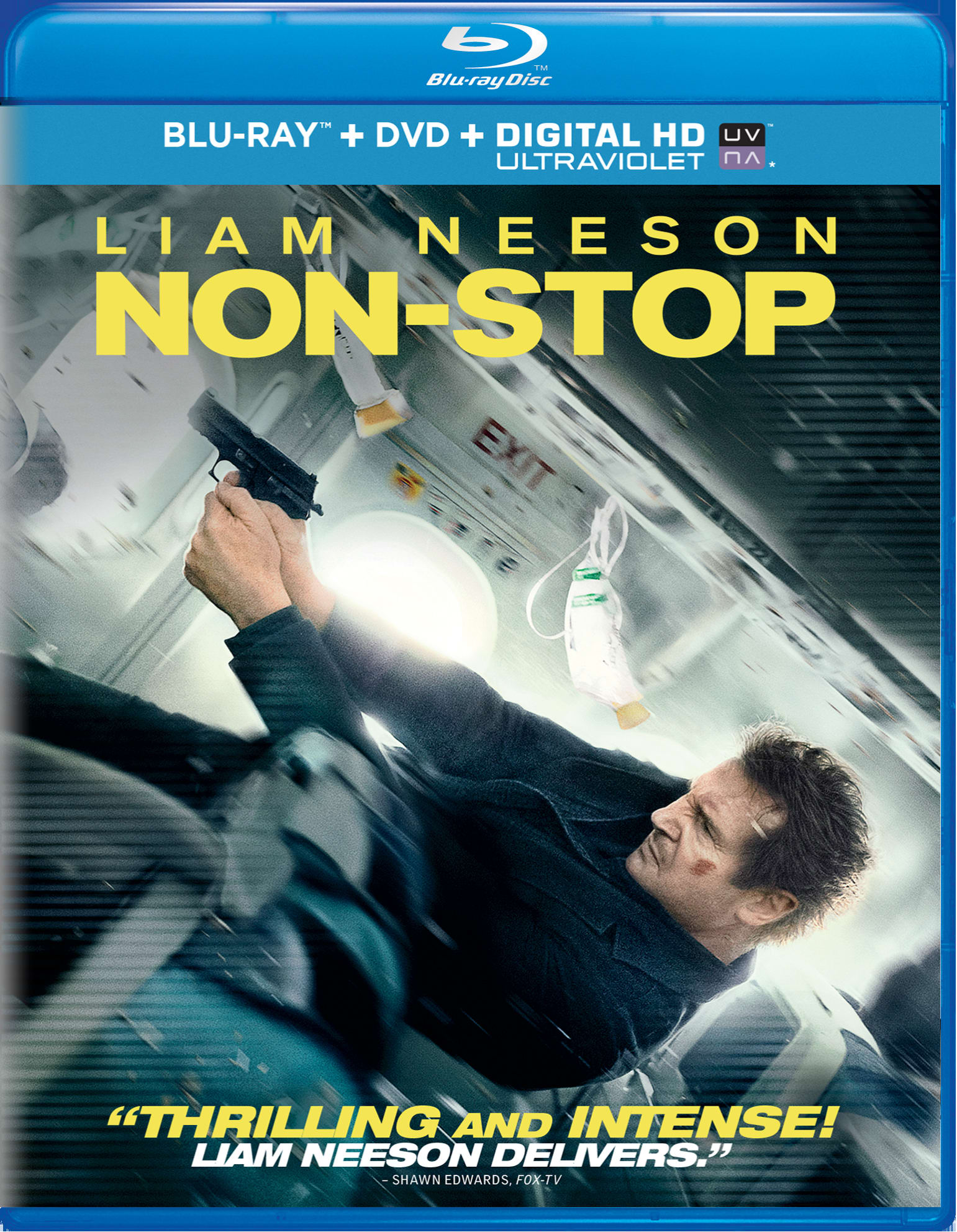 Non-Stop (DVD + Digital + Ultraviolet) [Blu-ray]