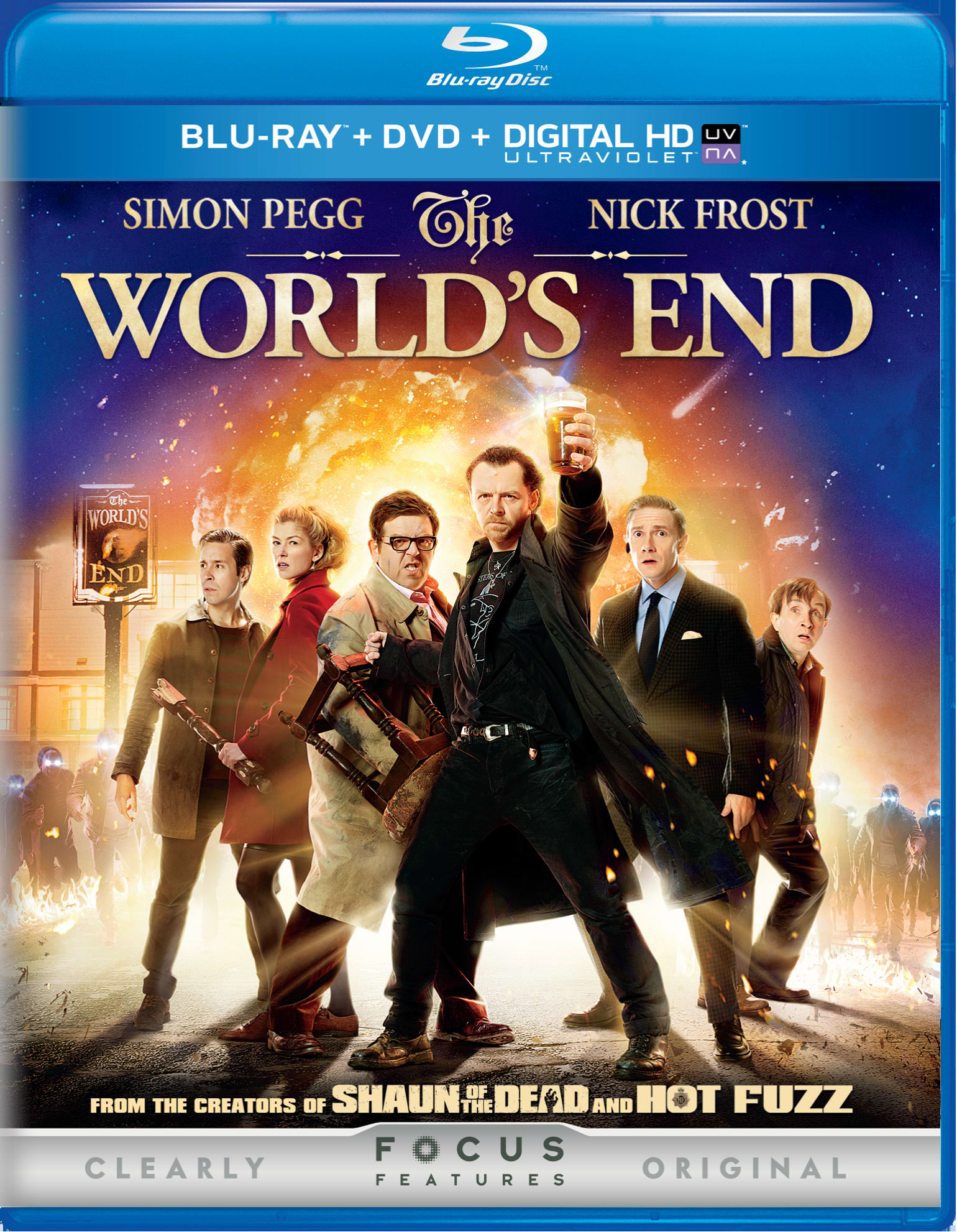 The World's End (DVD + Digital) [Blu-ray]