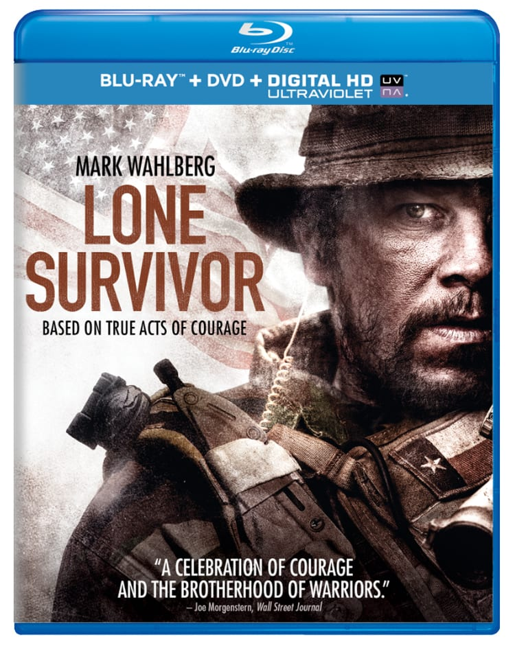 Lone Survivor (DVD + Digital + Ultraviolet) [Blu-ray]