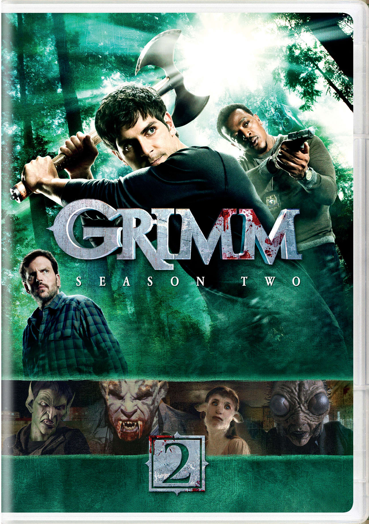 Grimm: Season Two (DVD + Digital) [DVD]