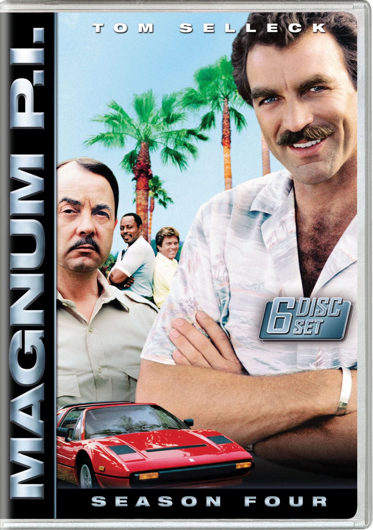 Magnum PI: The Complete Fourth Season [DVD]