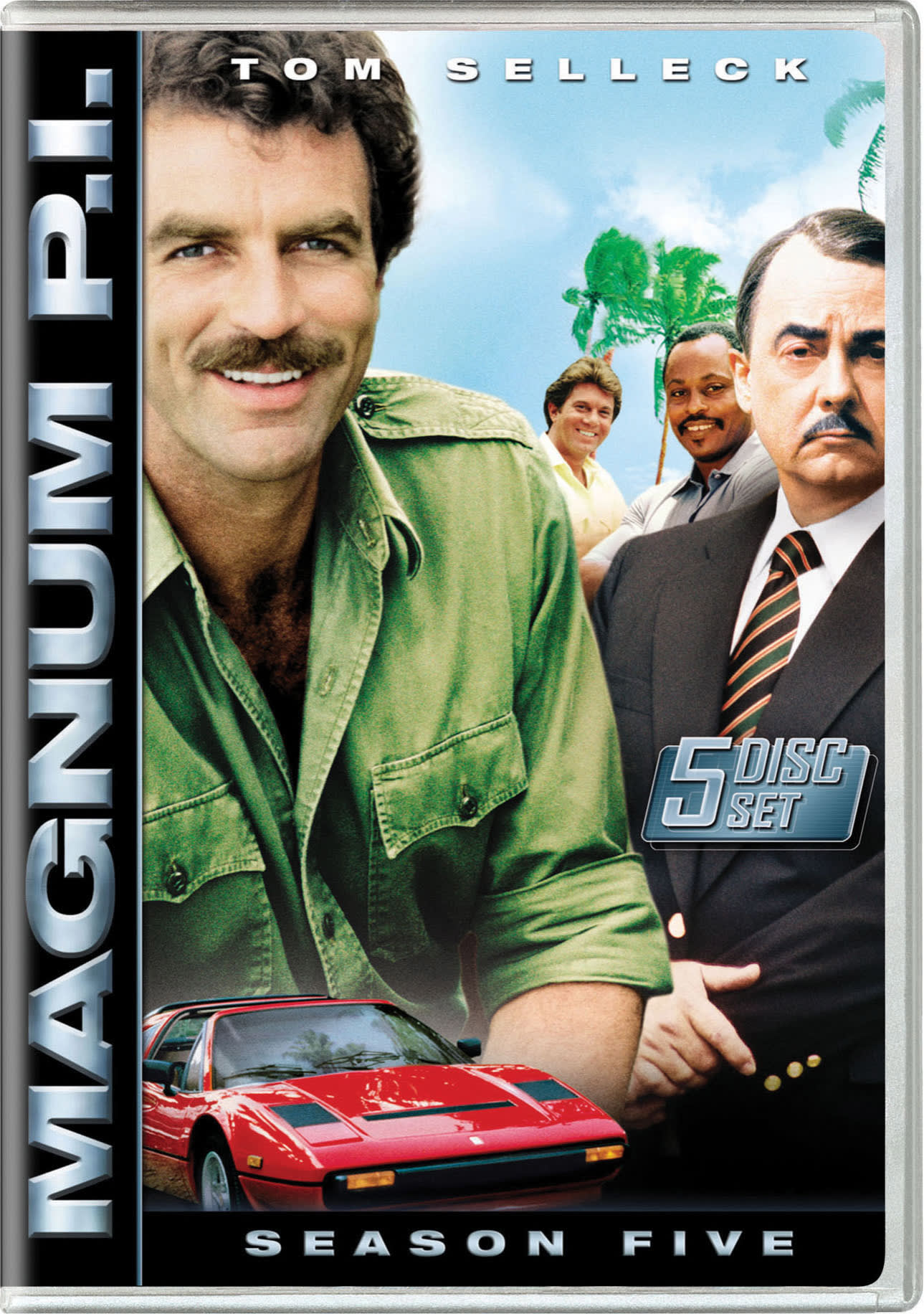 Magnum P.I.: Season Five [DVD]