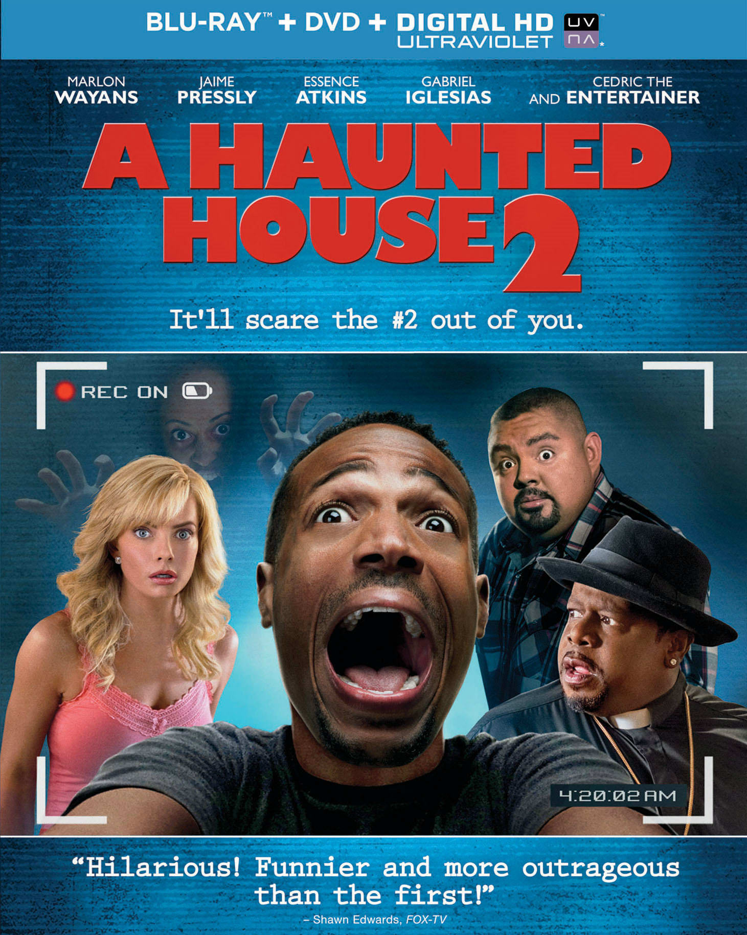 A Haunted House 2 (DVD + Digital + Ultraviolet) [Blu-ray]