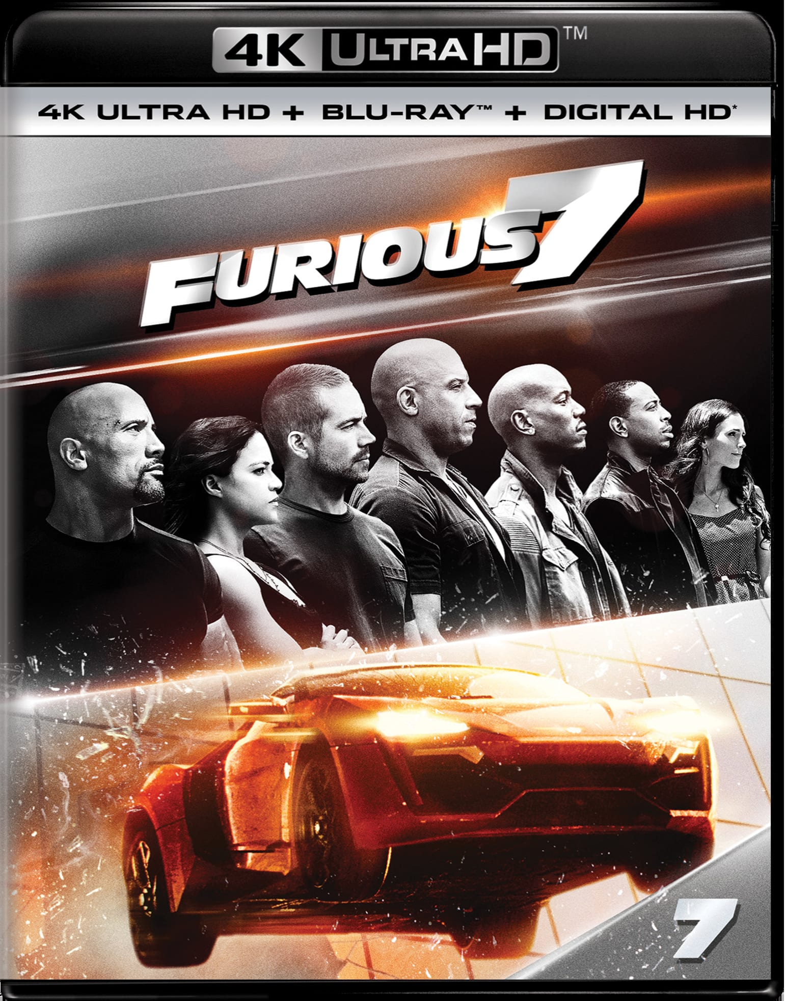 Fast & Furious 7 (4K Ultra HD) [UHD]