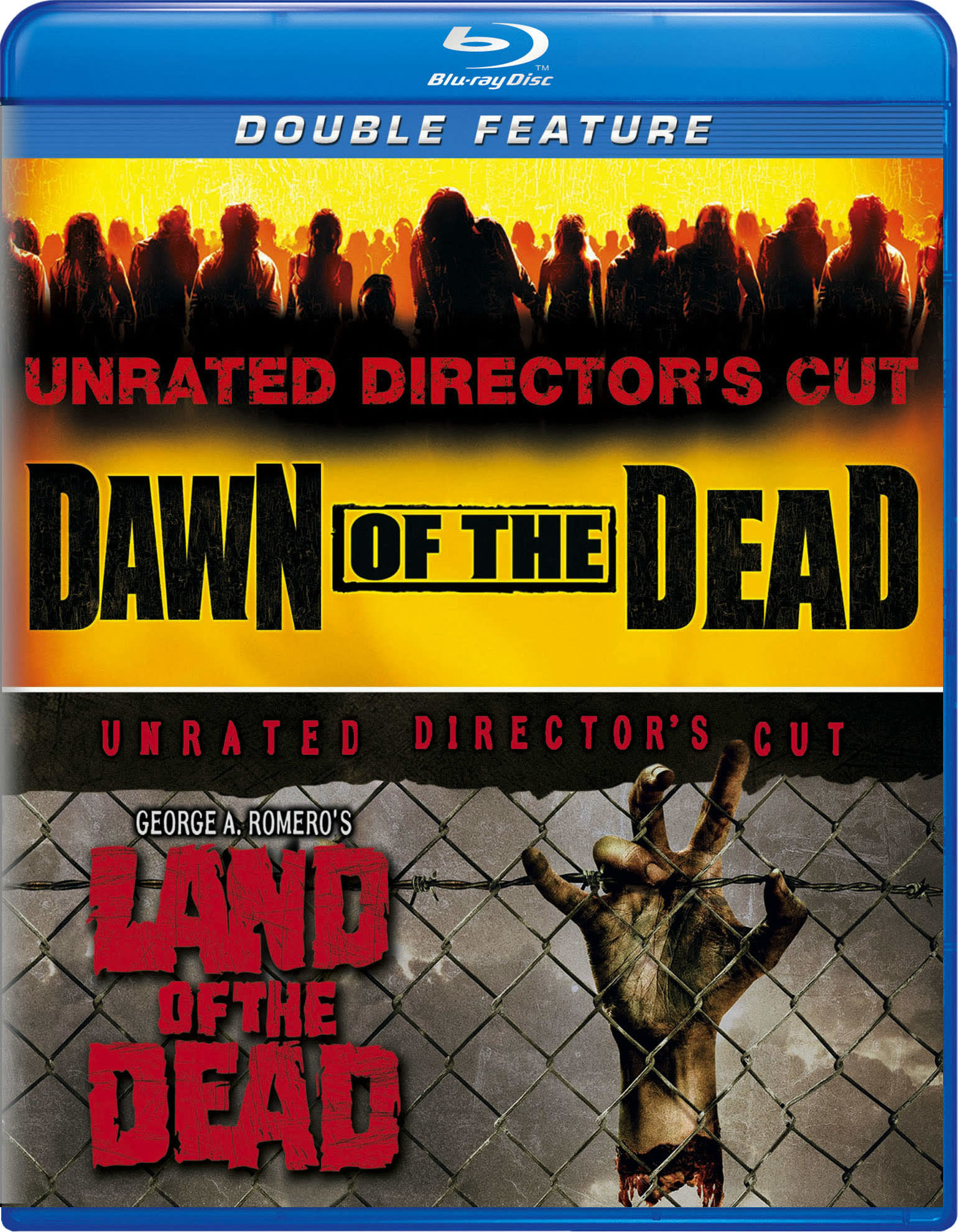 Dawn of the Dead/George A. Romero's Land of the Dead [Blu-ray]