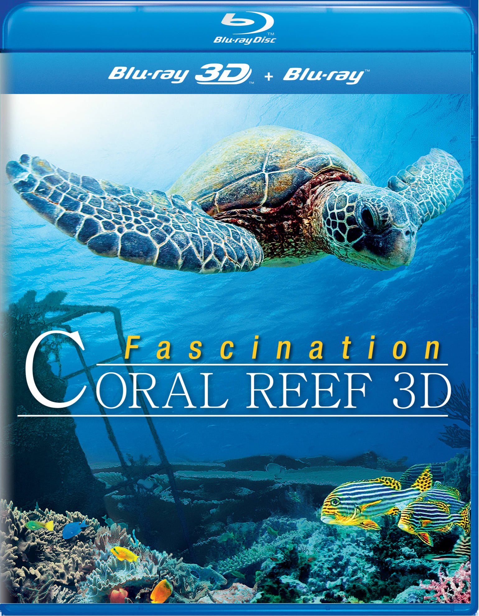 Fascination: Coral Reef 3D [Blu-ray]