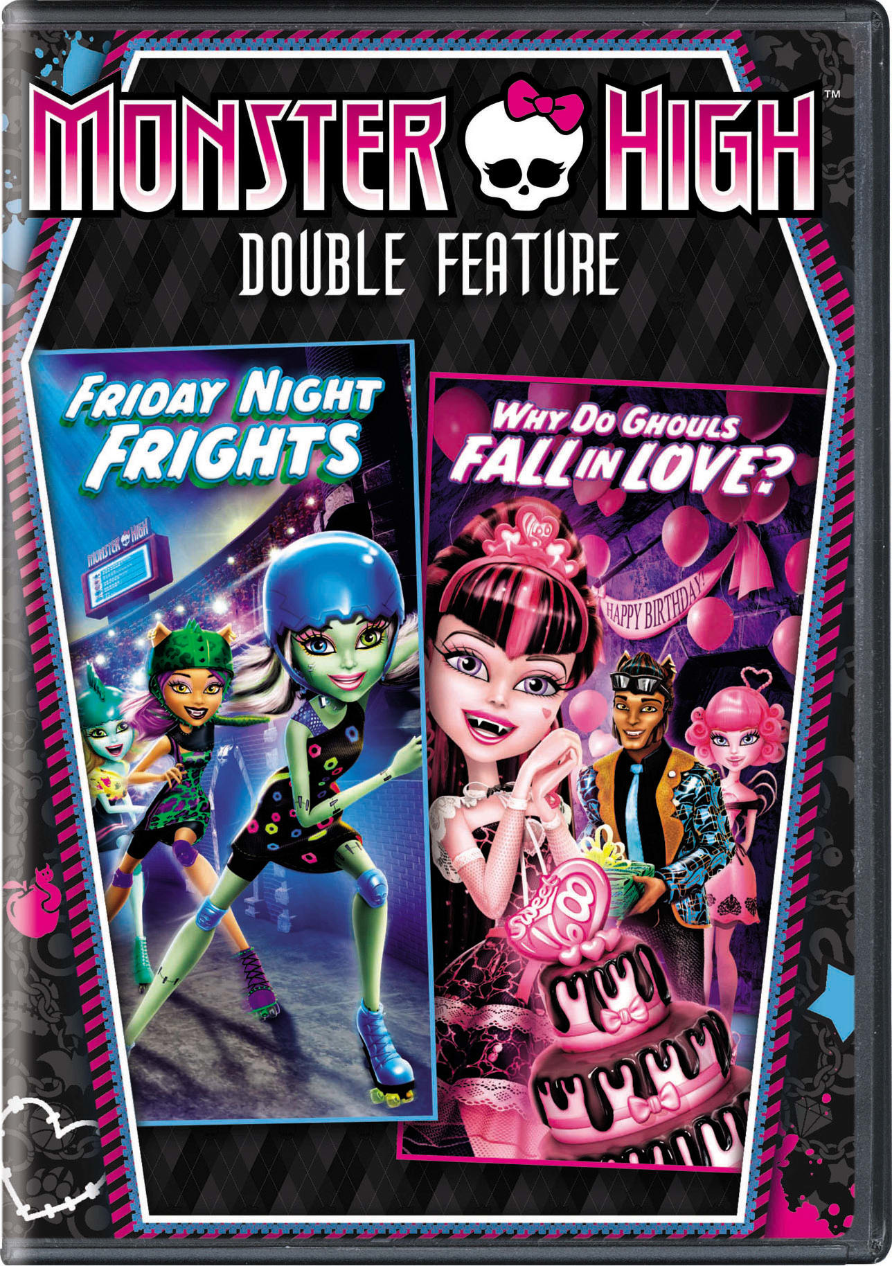 Monster High: Friday Night Frights/Why Do Ghouls Fall in Love? [DVD]
