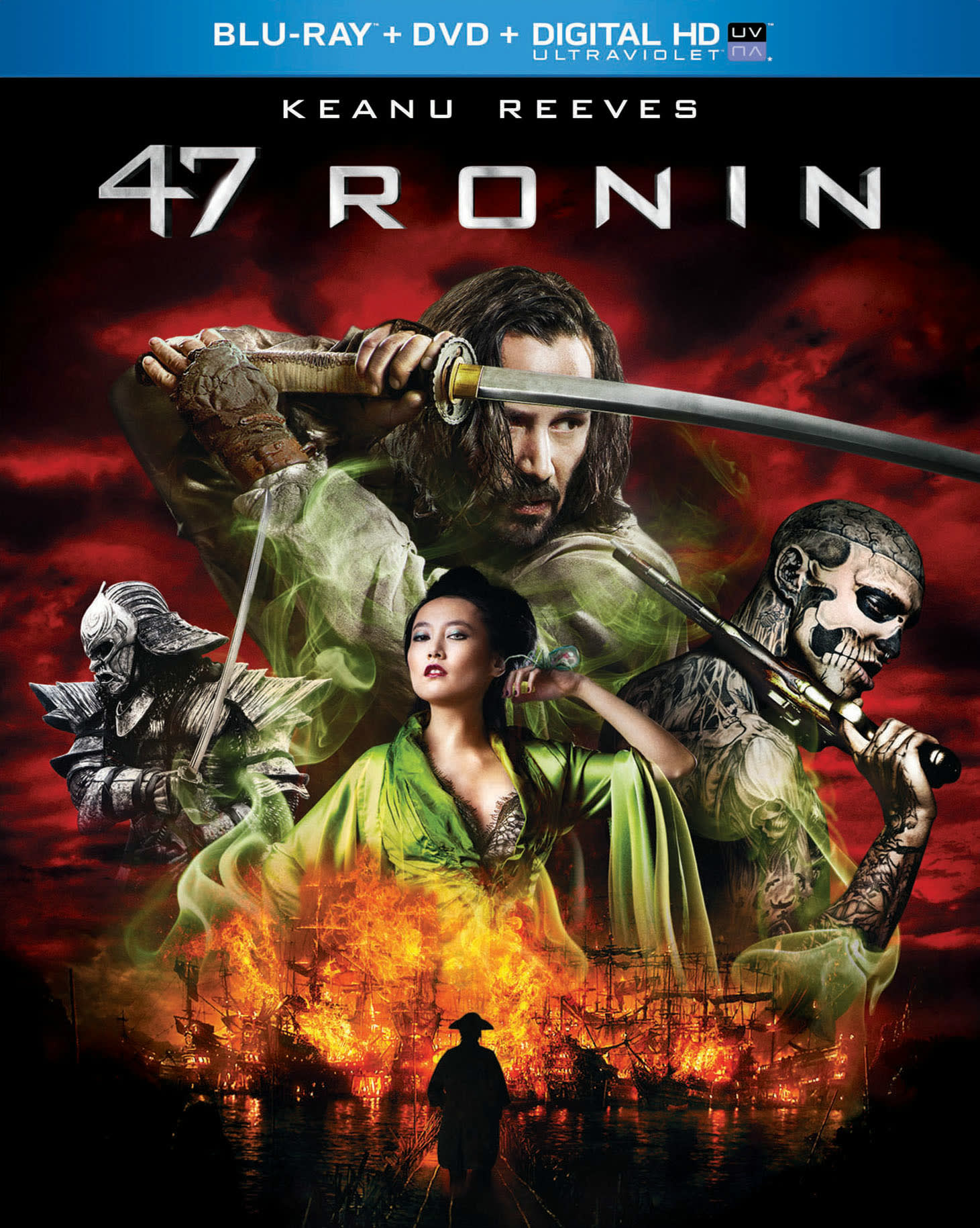 47 Ronin (DVD + Digital) [Blu-ray]