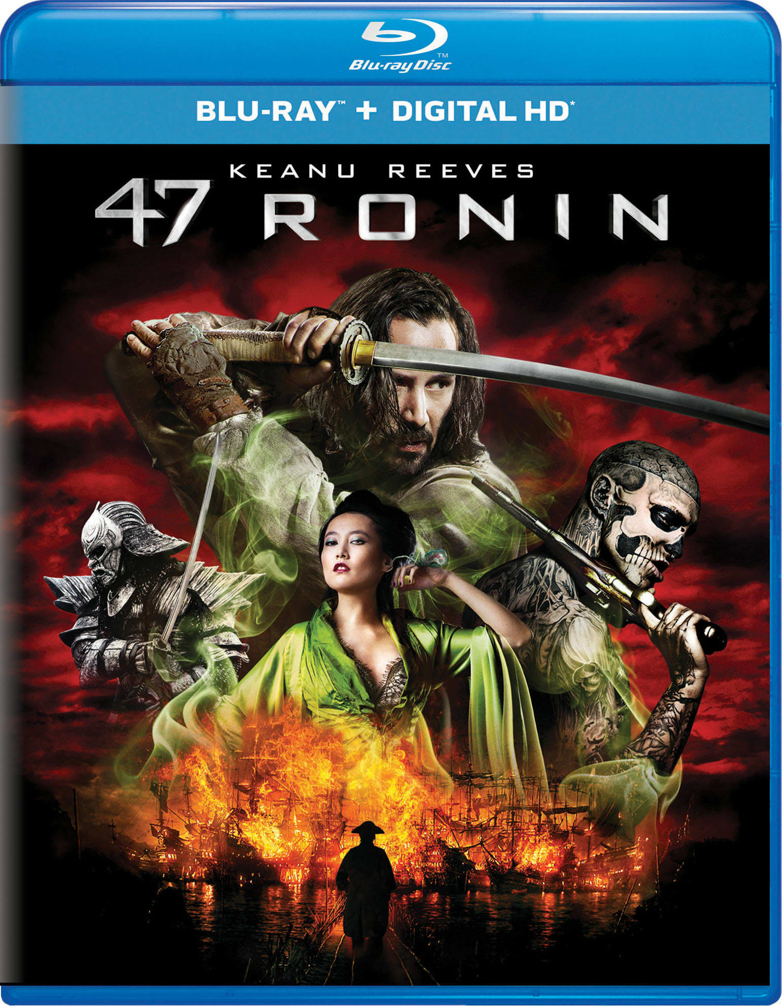 47 Ronin (Digital) [Blu-ray]