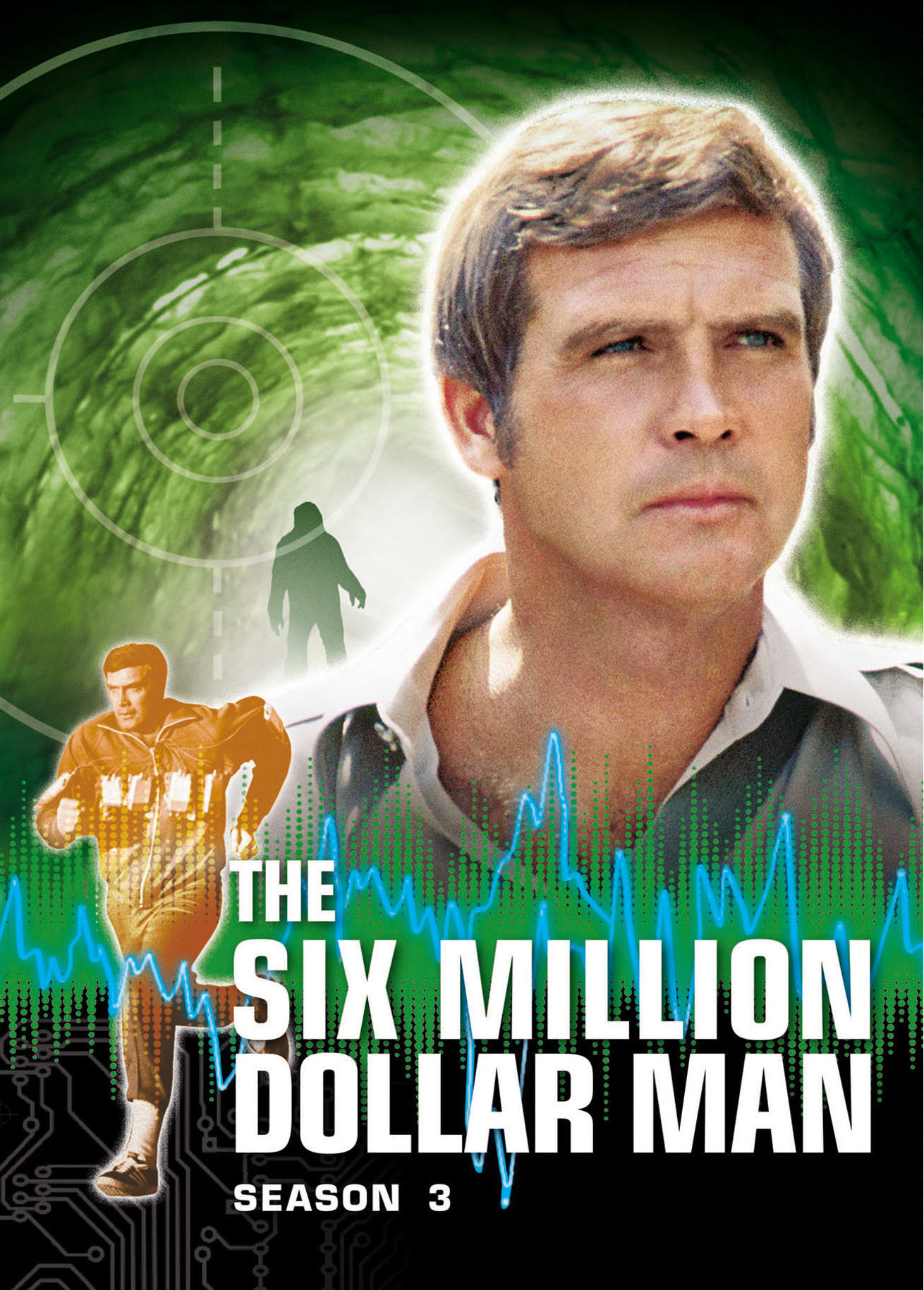 The Six Million Dollar Man: Season 3 [DVD]