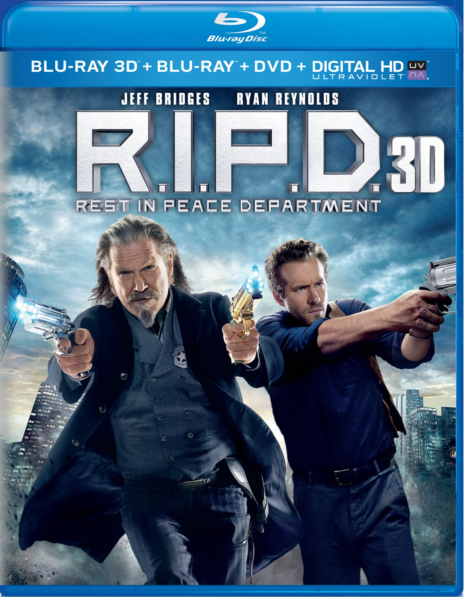 R.I.P.D. 3D (DVD + Digital) [Blu-ray]