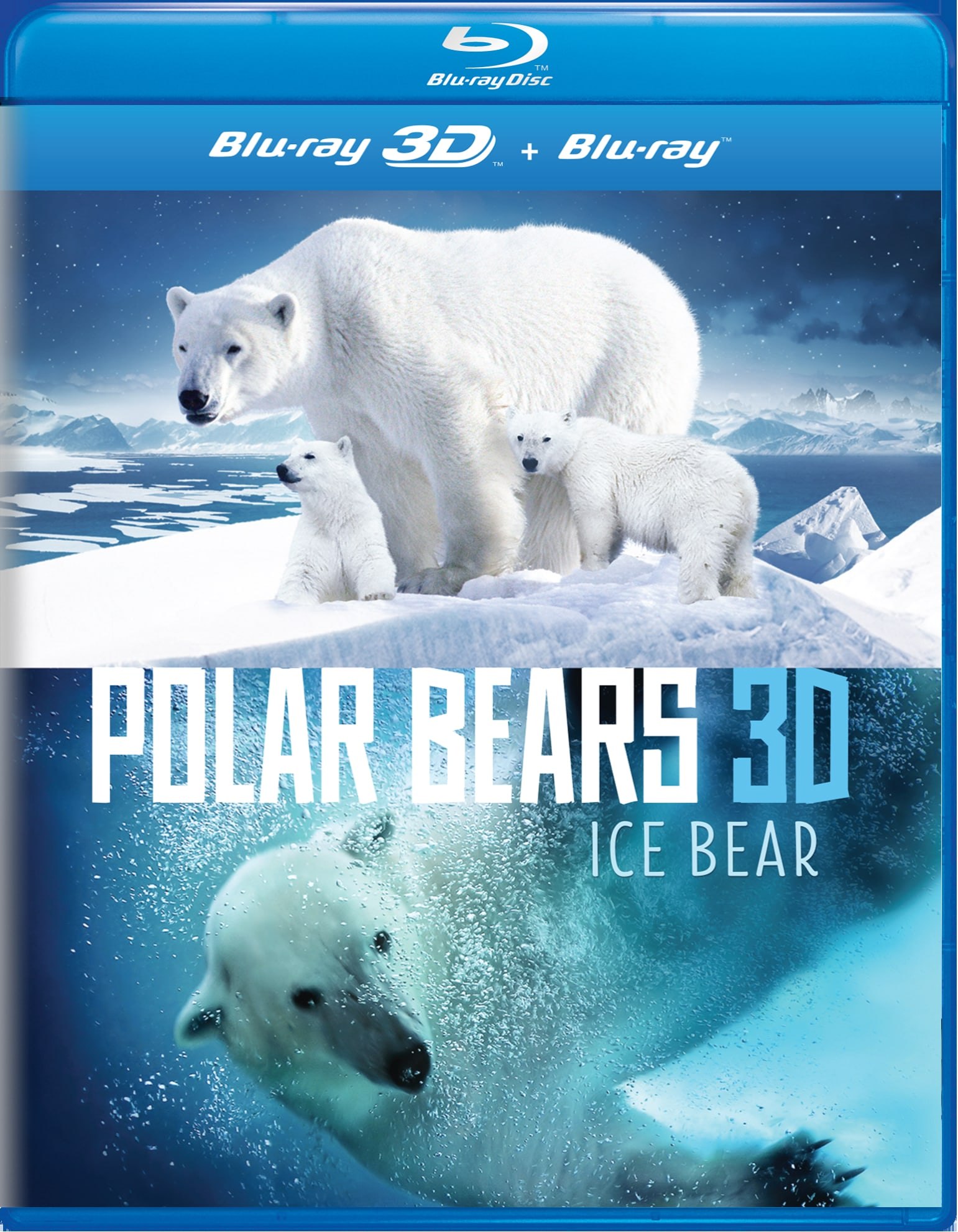 Polar Bears 3D: Ice Bear [Blu-ray]
