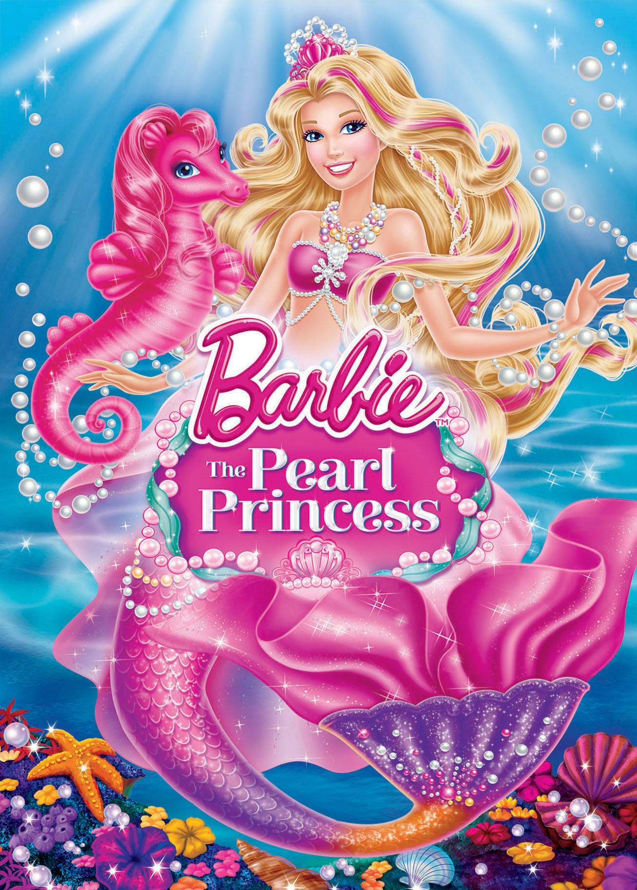 Barbie: The Pearl Princess [DVD]