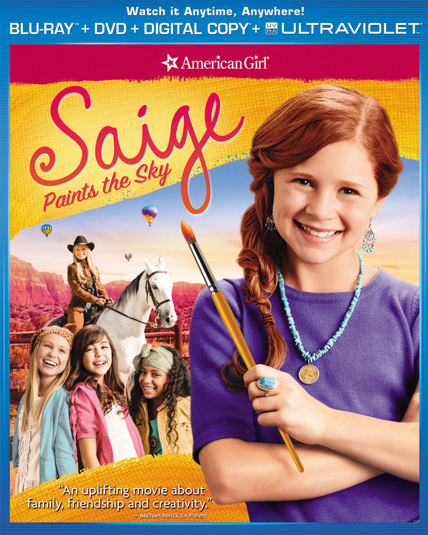 American Girl: Saige Paints the Sky (DVD + Digital + Ultraviolet) [Blu-ray]