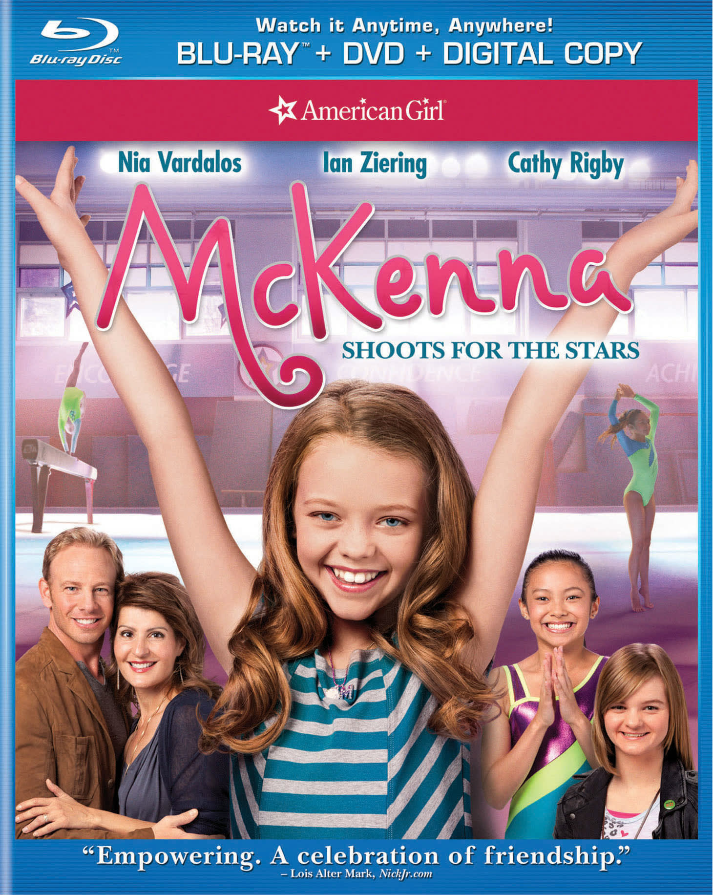 American Girl: Shooting for the Stars (DVD + Digital) [Blu-ray]