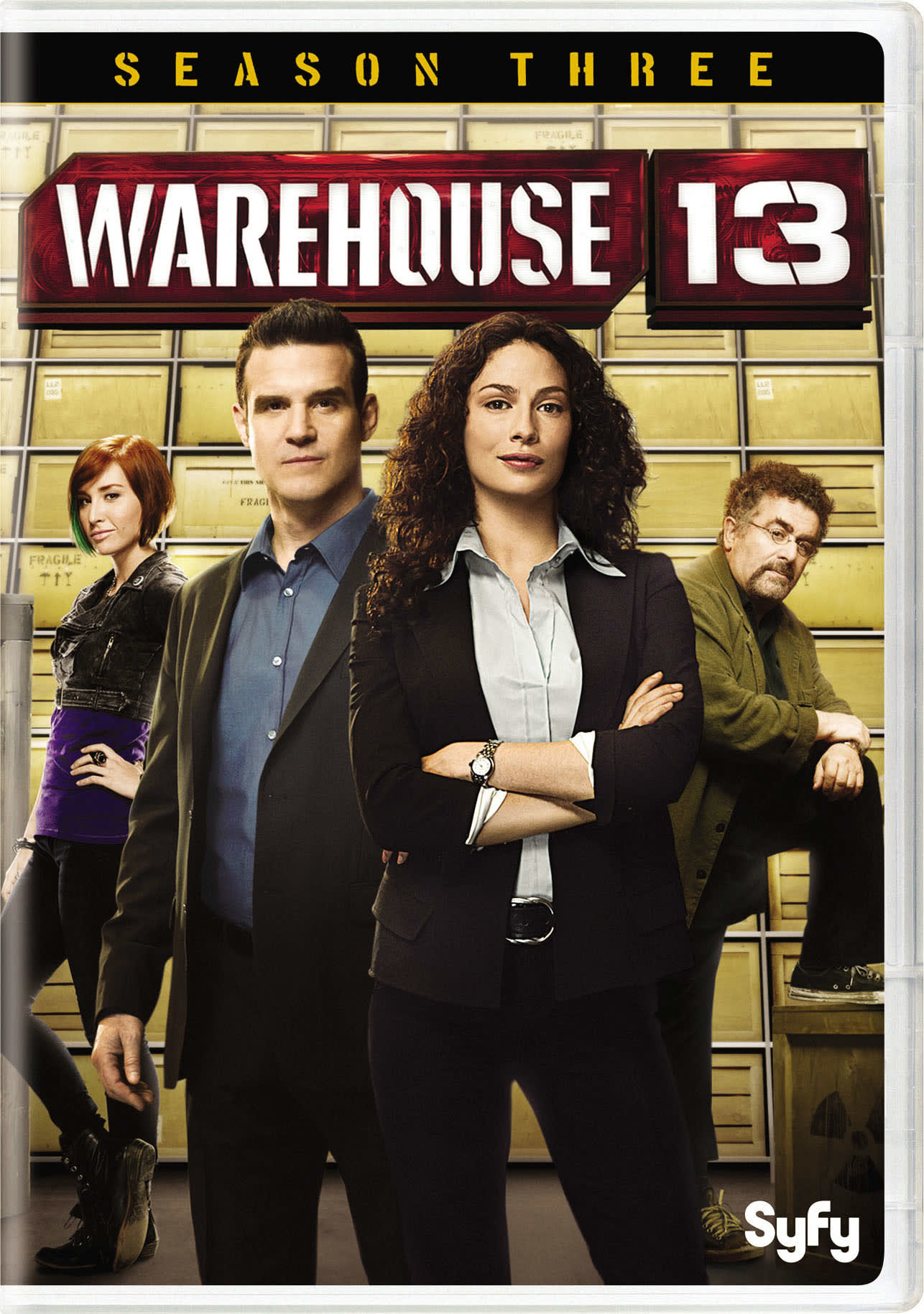 Warehouse 13: Season 3 [DVD]