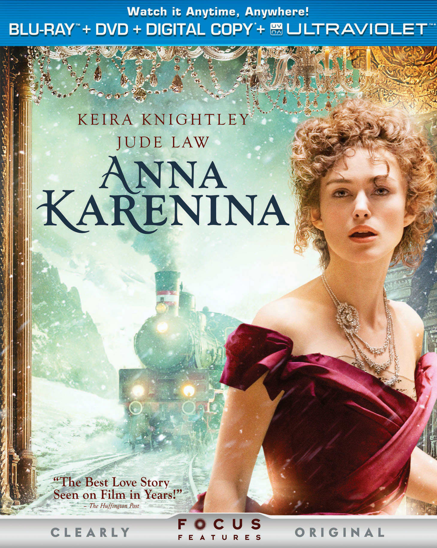 Anna Karenina (DVD + Digital + Ultraviolet) [Blu-ray]