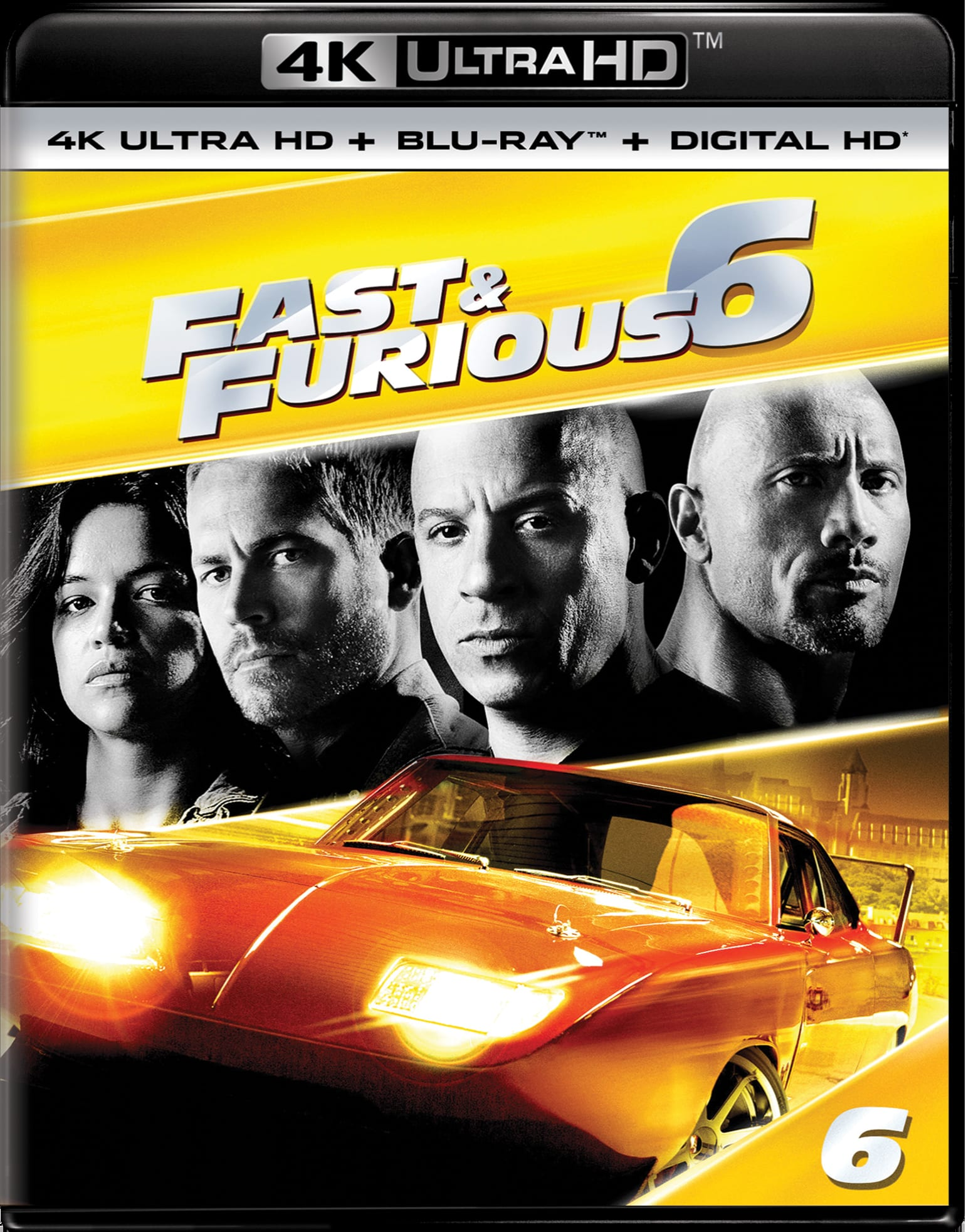 Fast & Furious 6 (4K Ultra HD) [UHD]