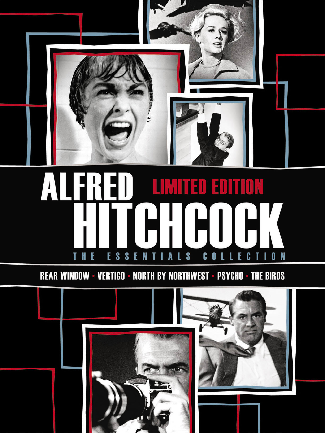 Alfred Hitchcock: The Essentials Collection (Limited Edition Box Set) [DVD]