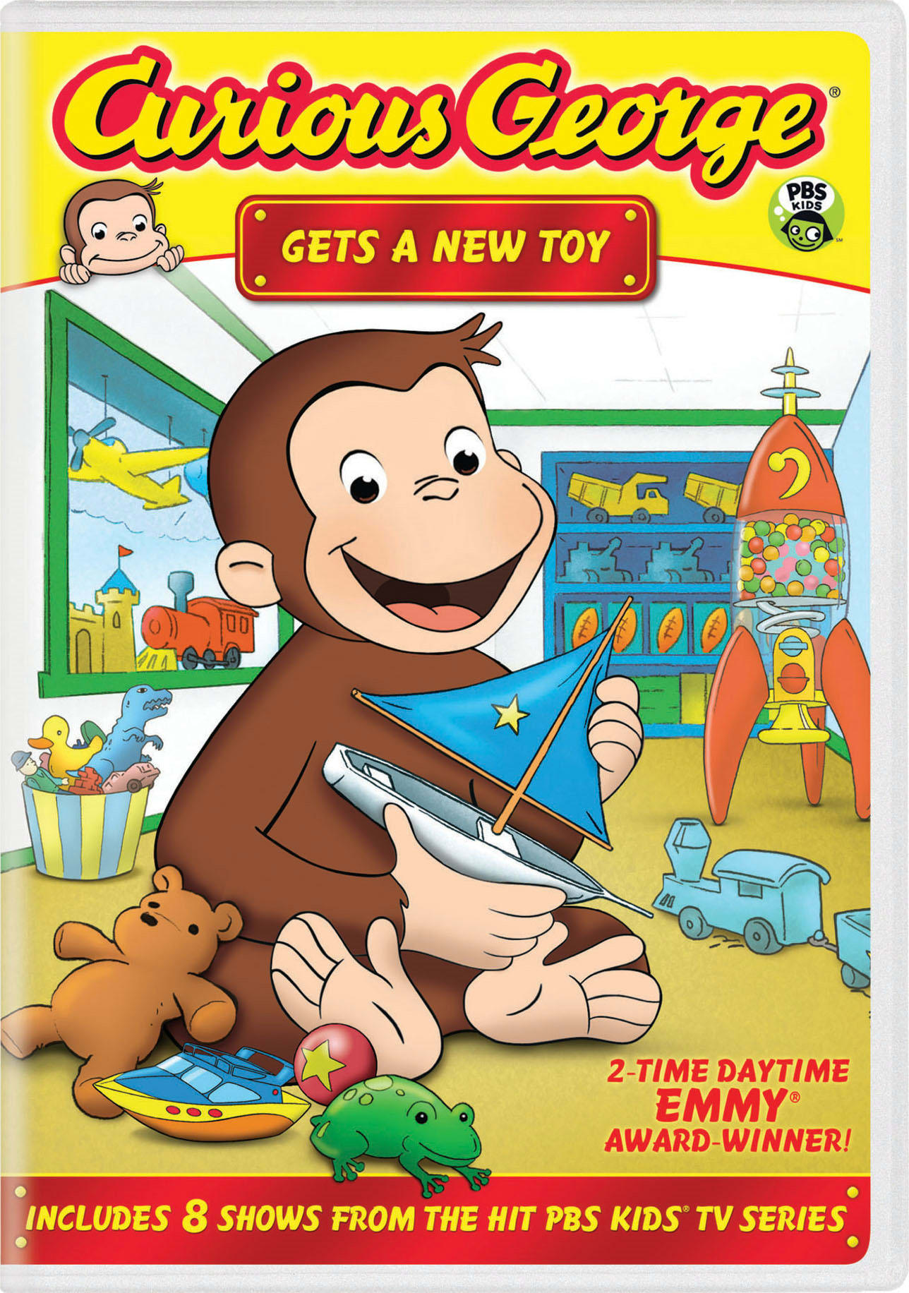 Curious George: Gets a New Toy [DVD]