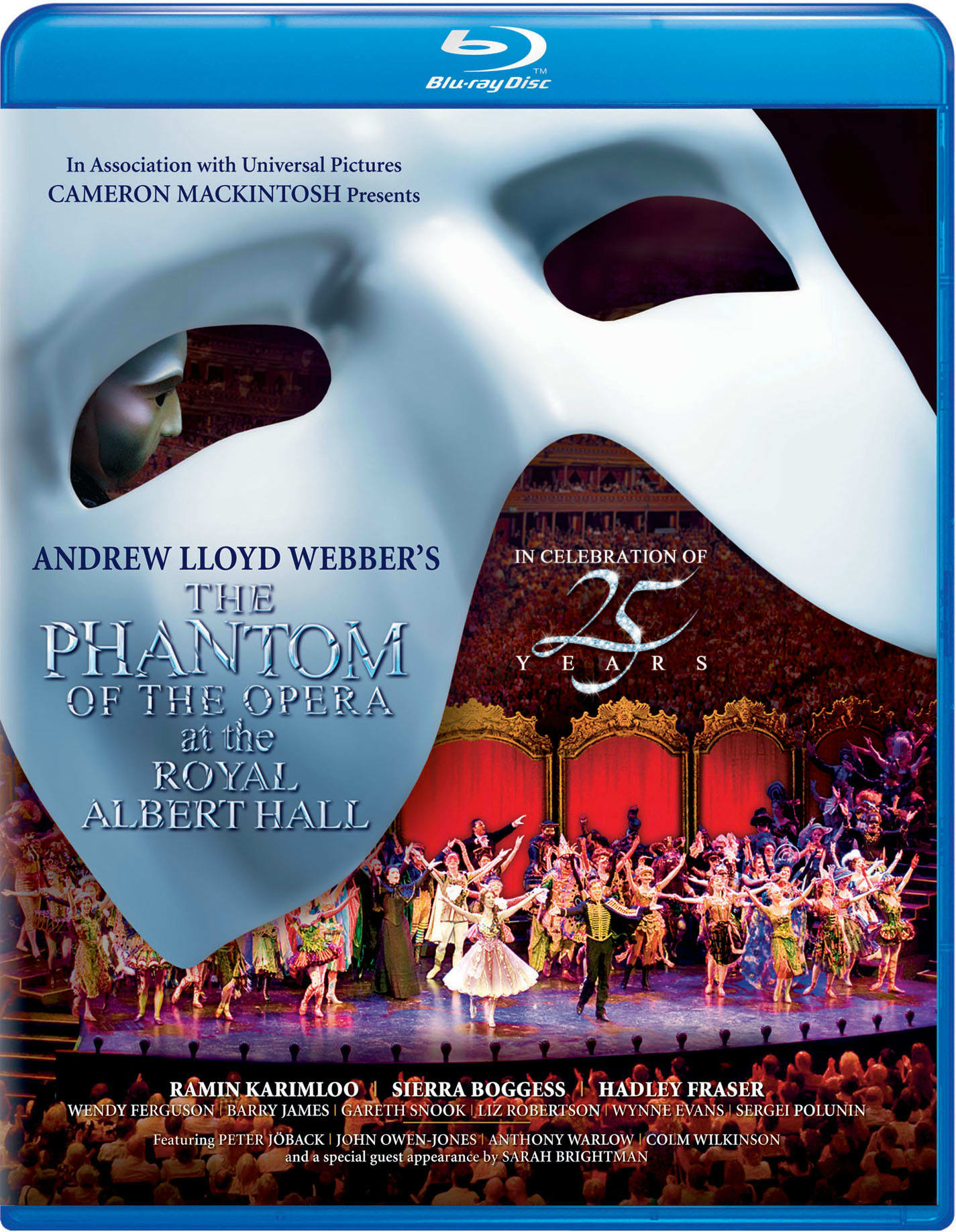 The Phantom of the Opera at the Albert Hall - 25th Anniversary [Blu-ray]