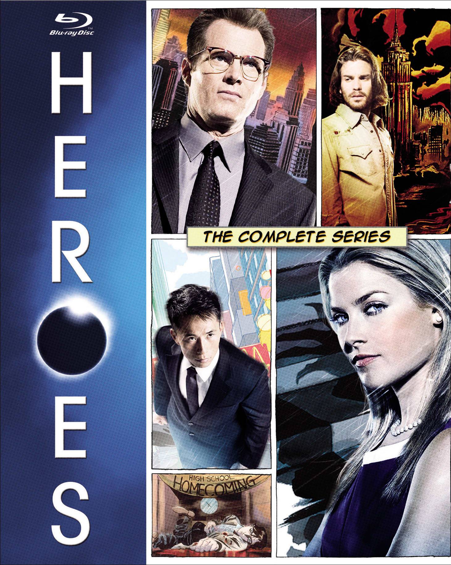 Heroes: The Complete Collection [Blu-ray]