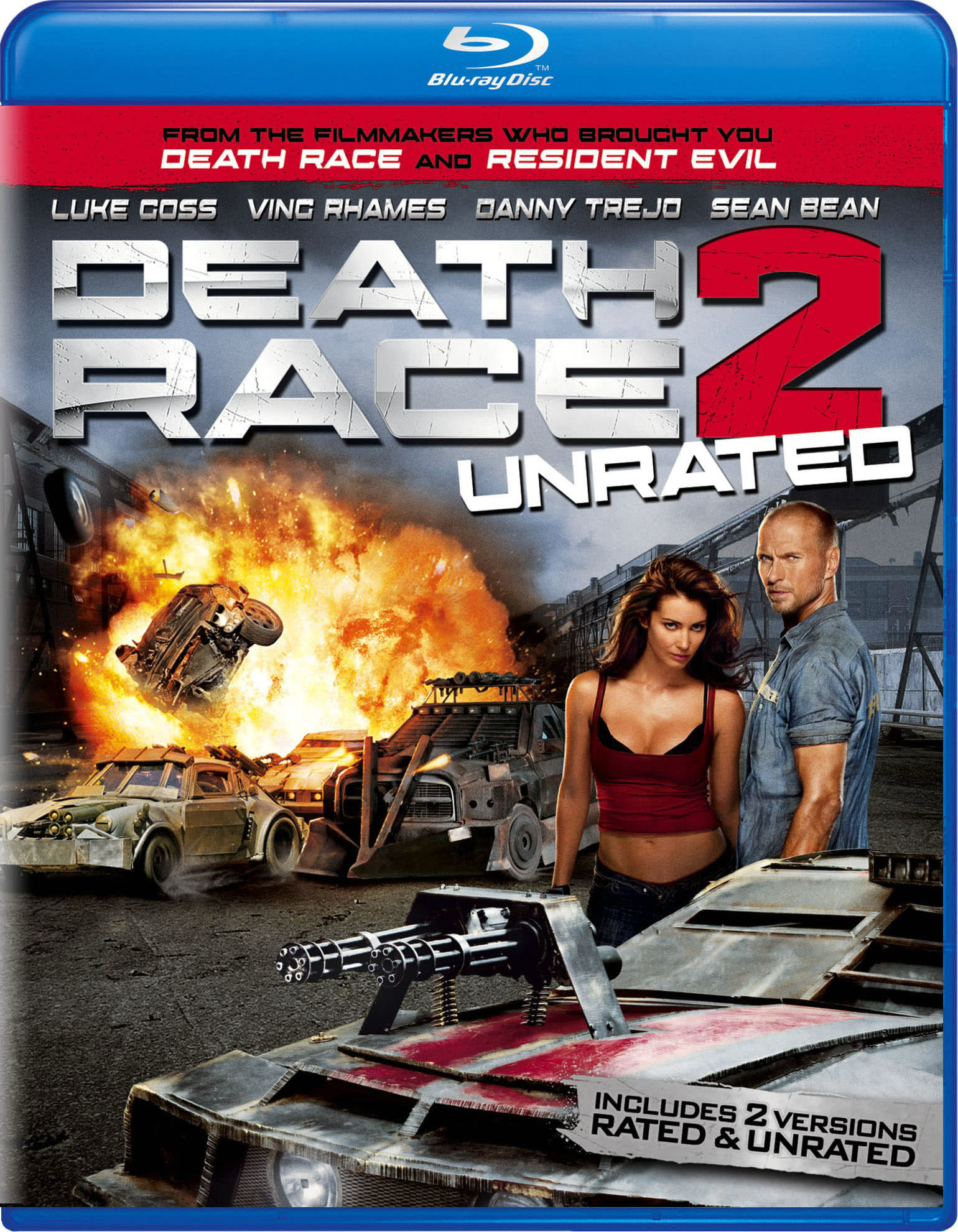 Death Race 2 (Unrated Edition) [Blu-ray]