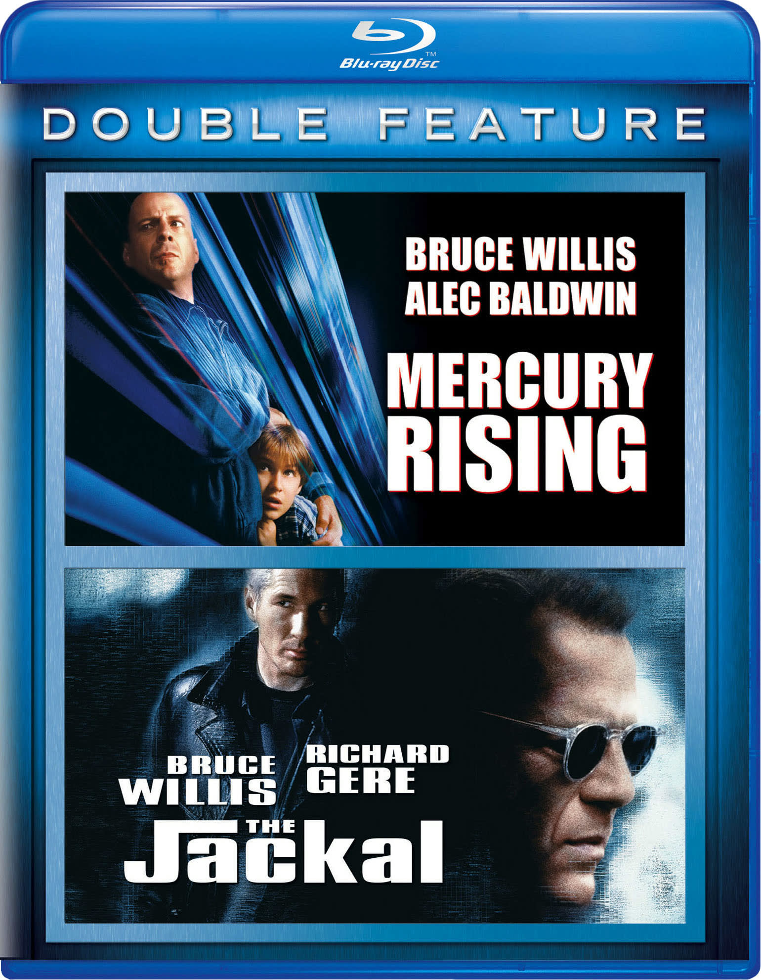 Mercury Rising/The Jackal [Blu-ray]