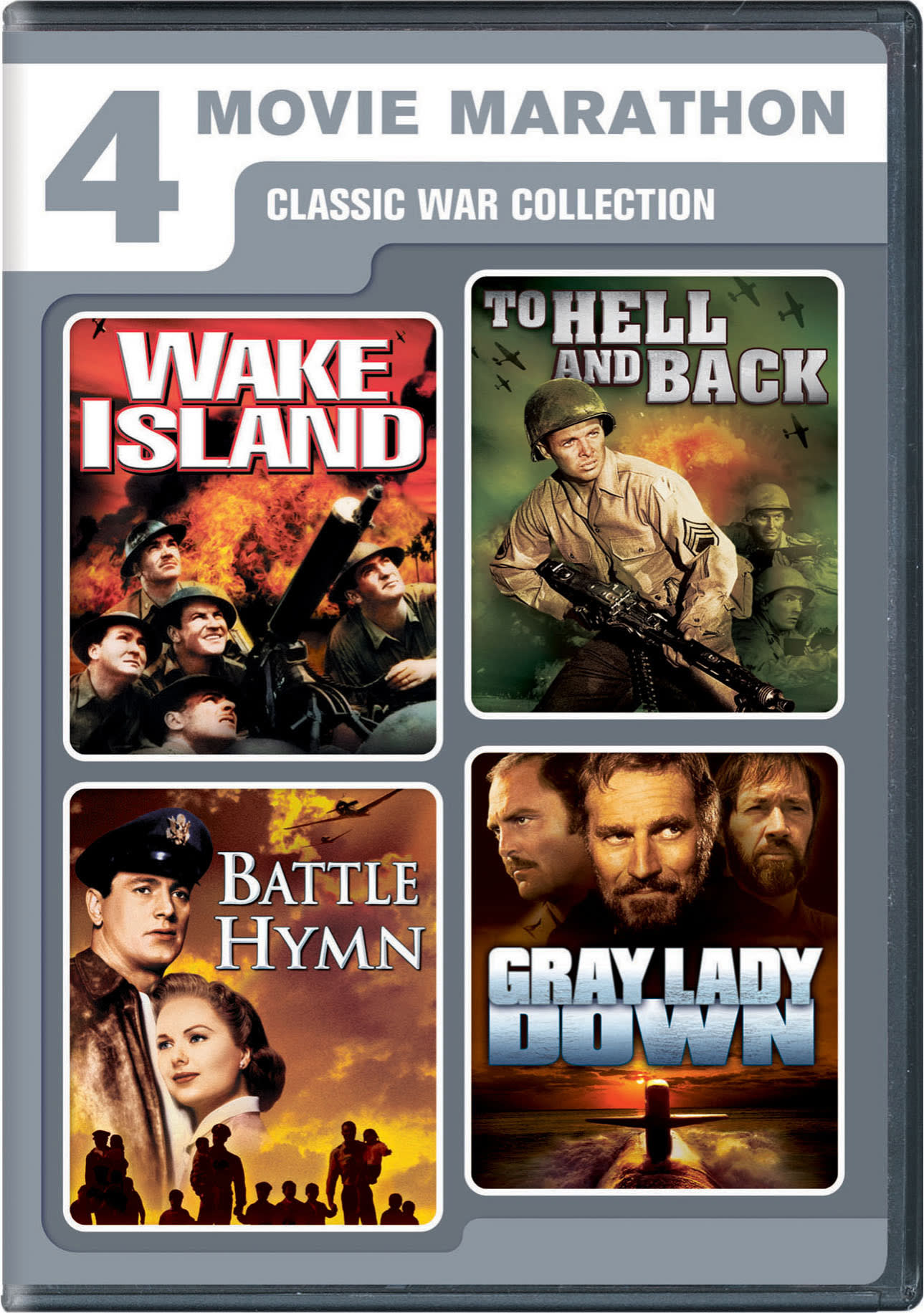 4 Movie Marathon: Classic War Collection [DVD]