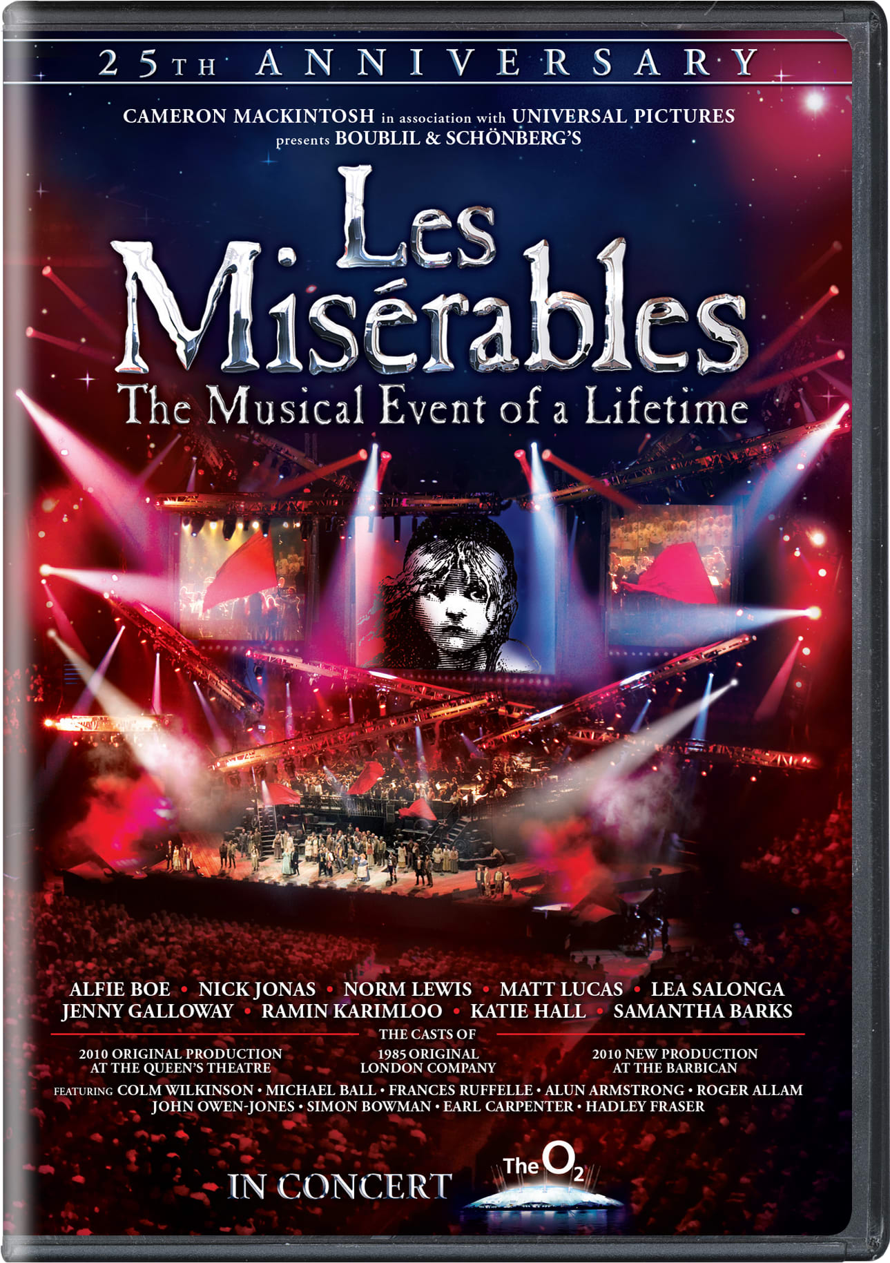 Les Misérables: In Concert - 25th Anniversary Show (25th Anniversary Edition) [DVD]
